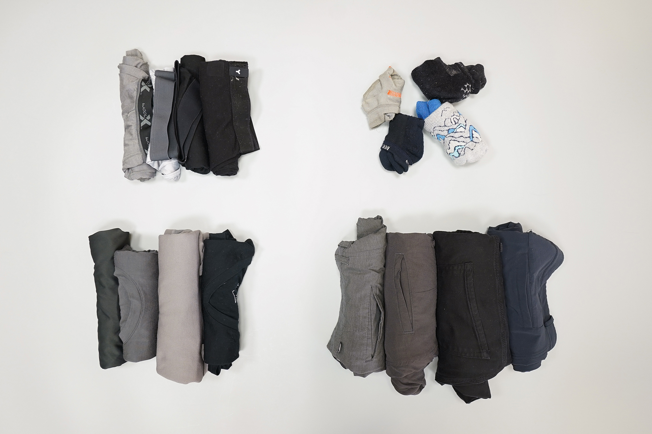 How To Pack a Carry-on Tops and Bottoms By Category