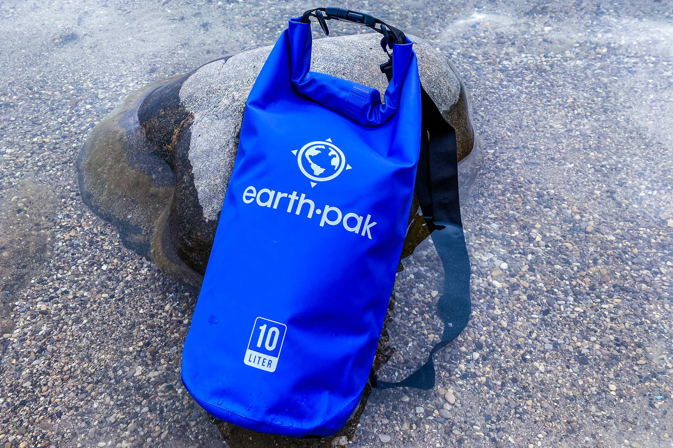 Earth Pak Original Waterproof Dry Bag In The Water