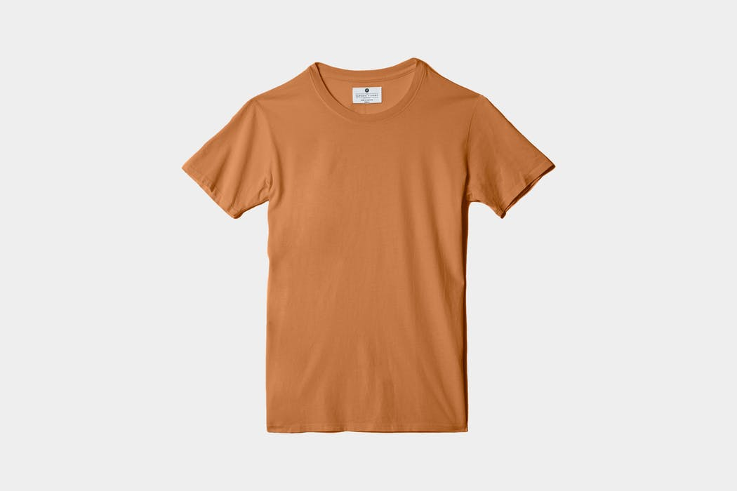 The Classic T-Shirt Company Short Sleeve Crew Neck