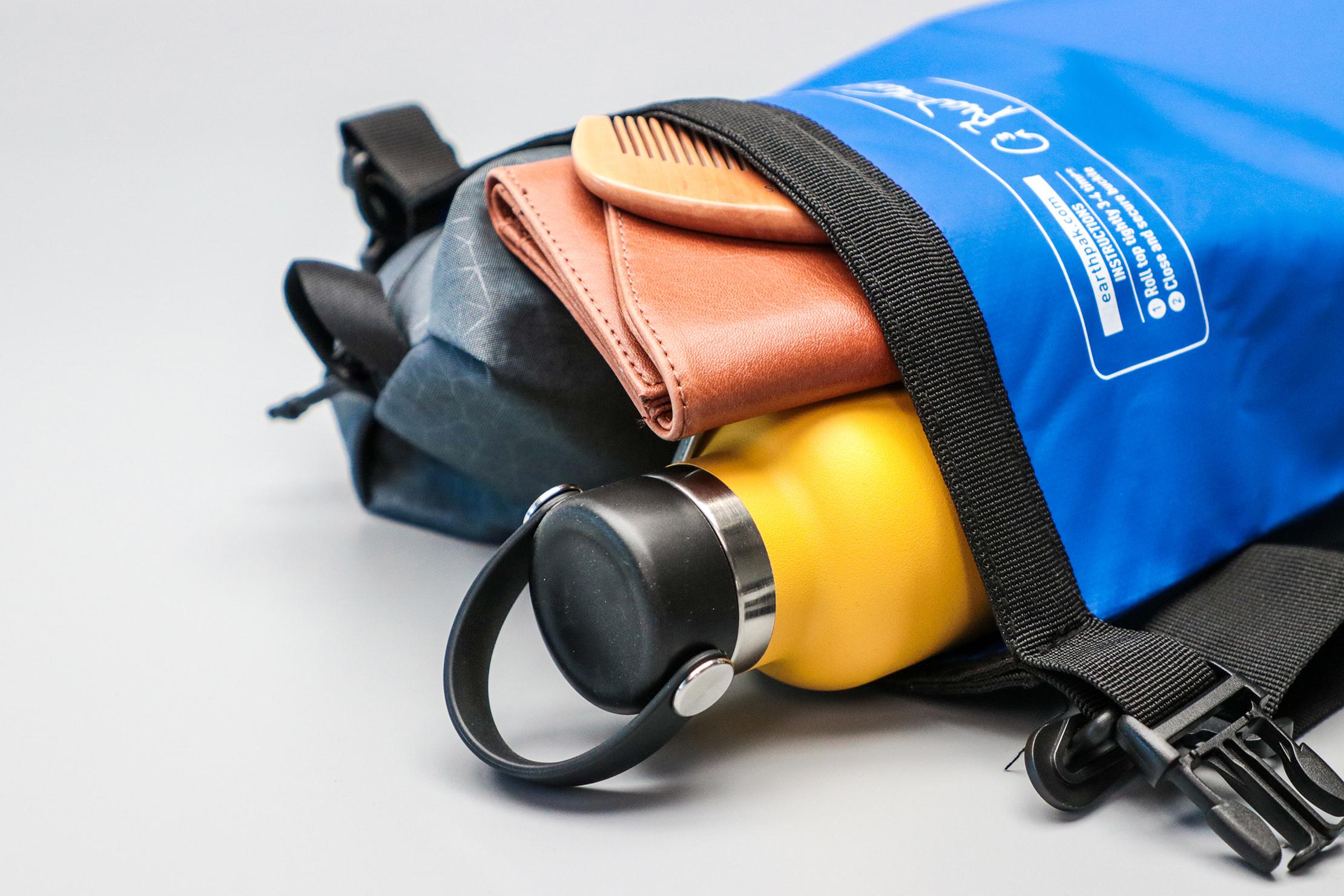 Earth Pak Original Waterproof Dry Bag Packed With Gear