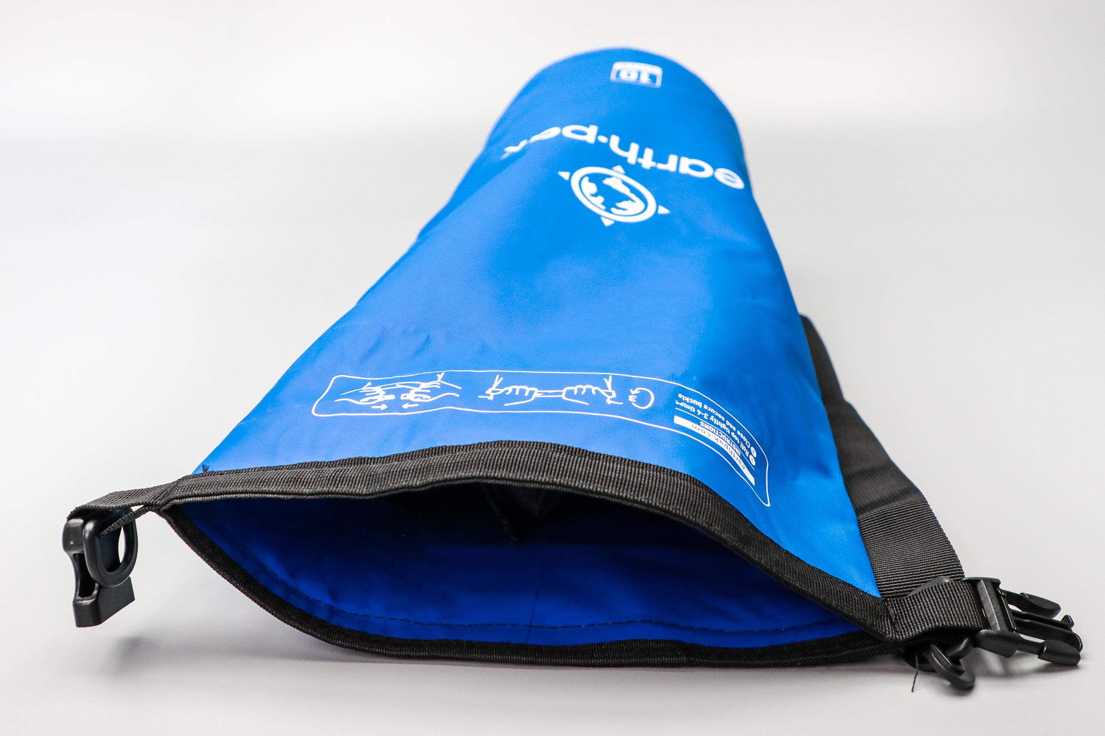 Earth Pak Original Waterproof Dry Bag Open