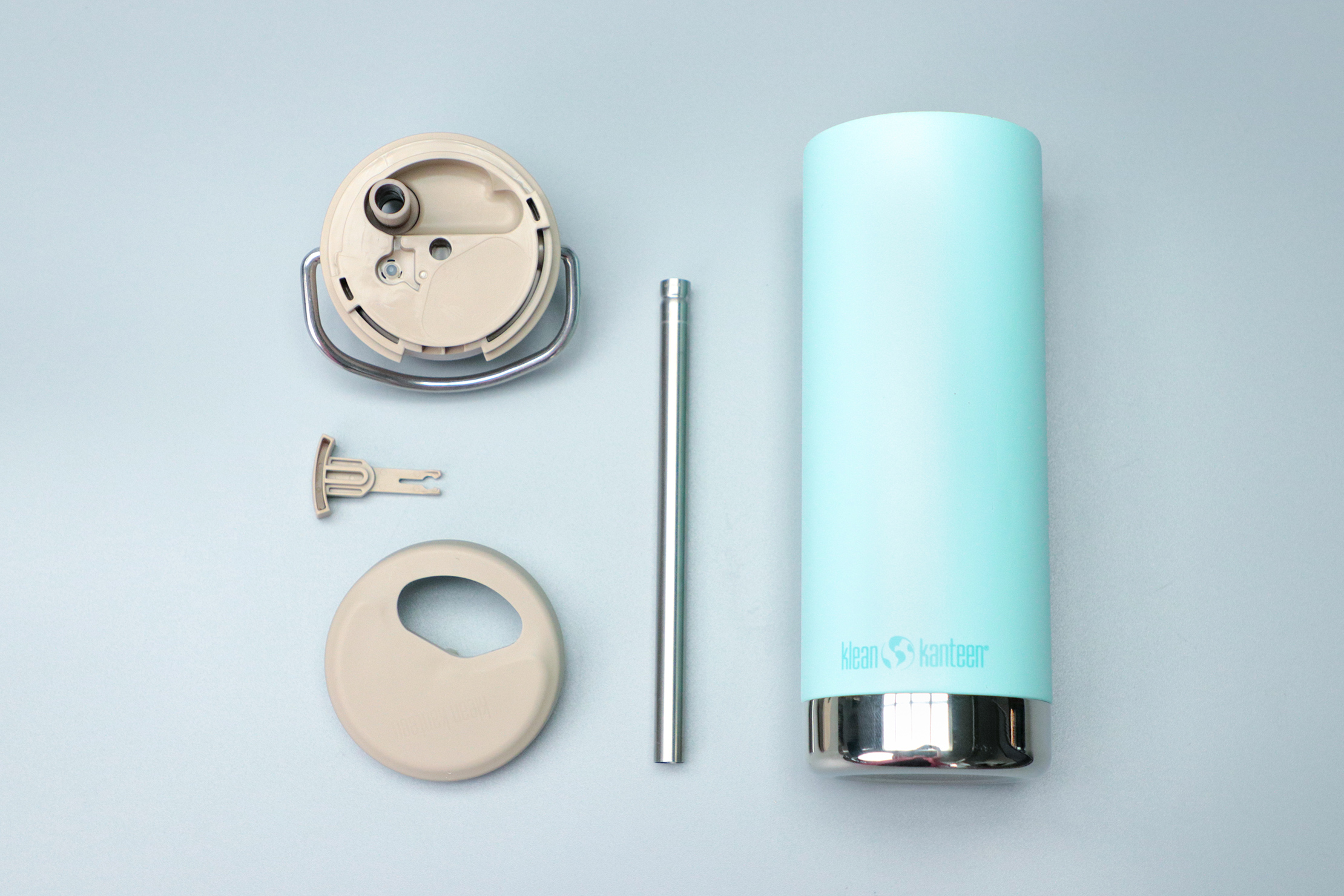 Klean Kanteen Insulated TKWide 16 oz Disassembled