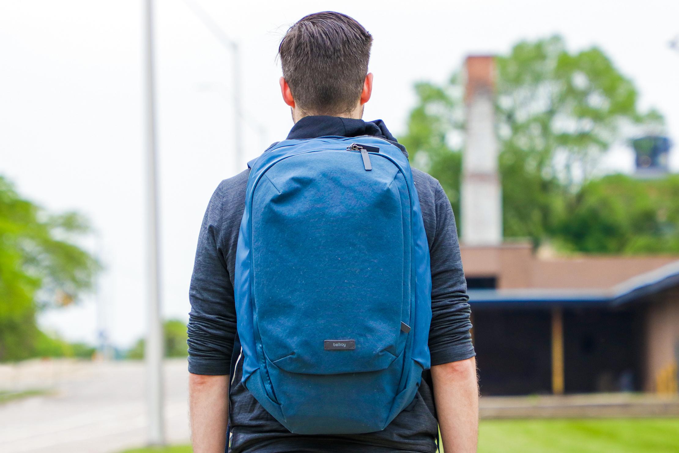 Bellroy Transit Backpack Plus Usage 2