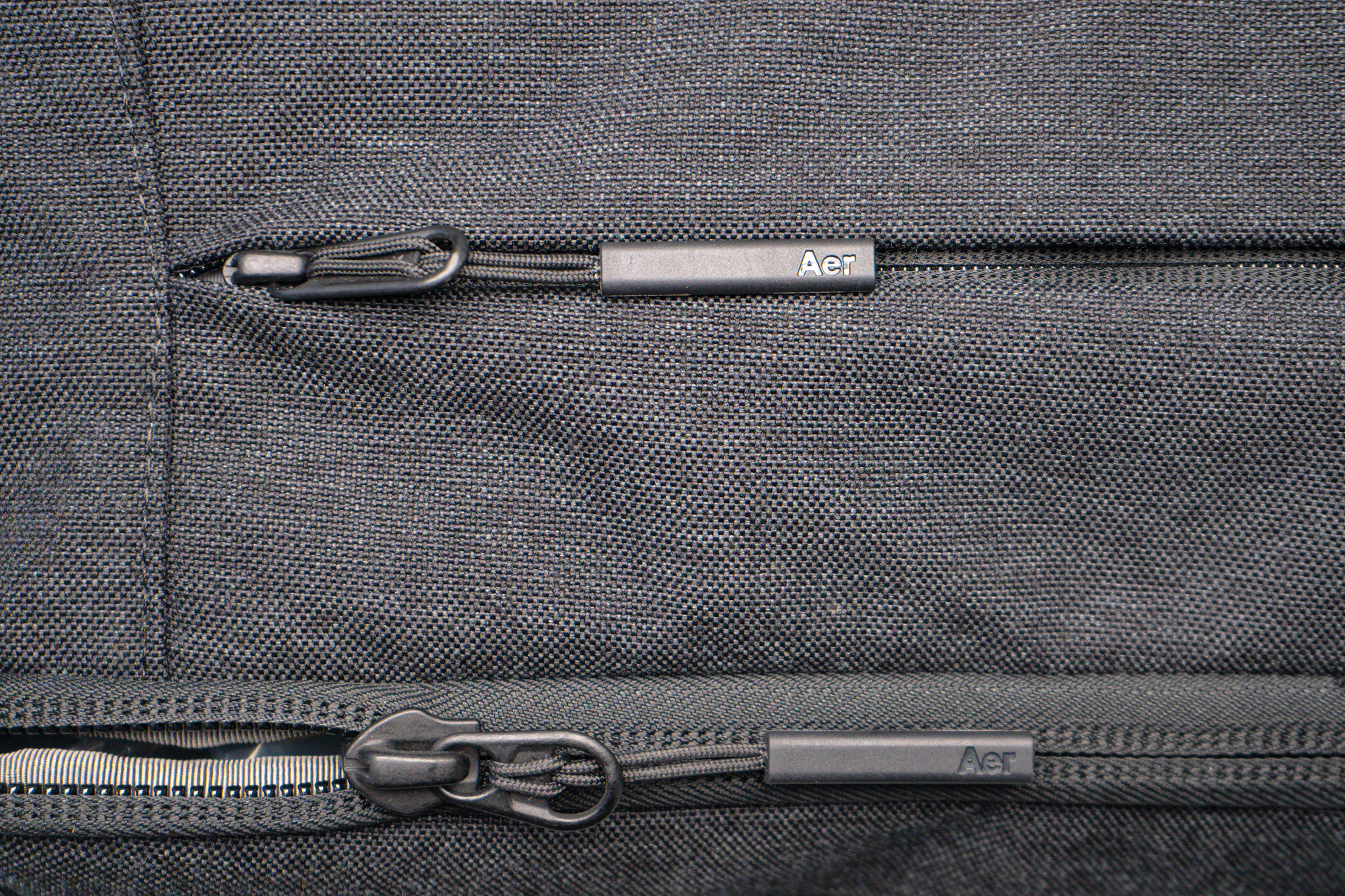 Aer x Ministry of Supply Lunar Pack Zippers