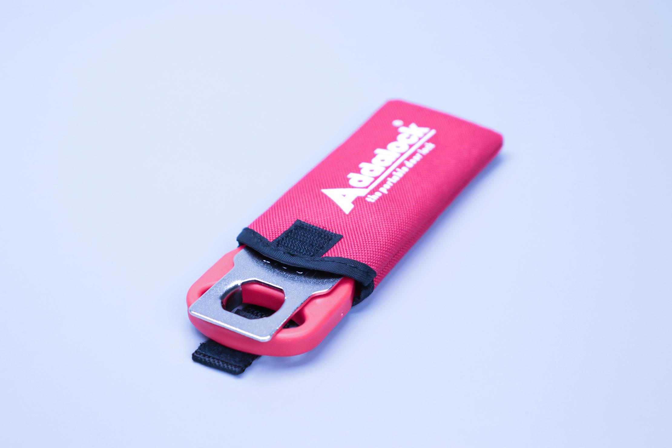 Addalock Portable Door Lock in Sleeve