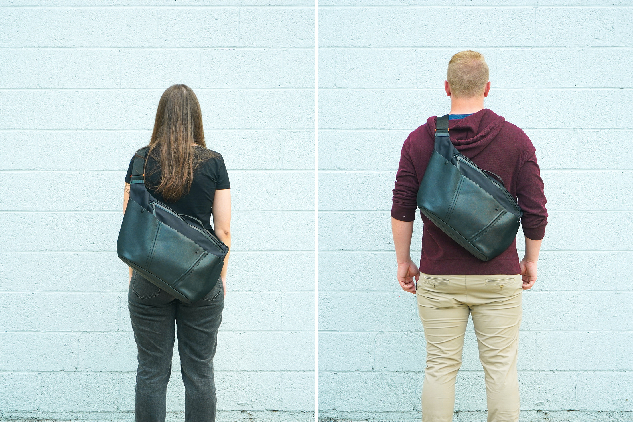 Agency Aspect Hybrid Messenger Bag Fit Notes