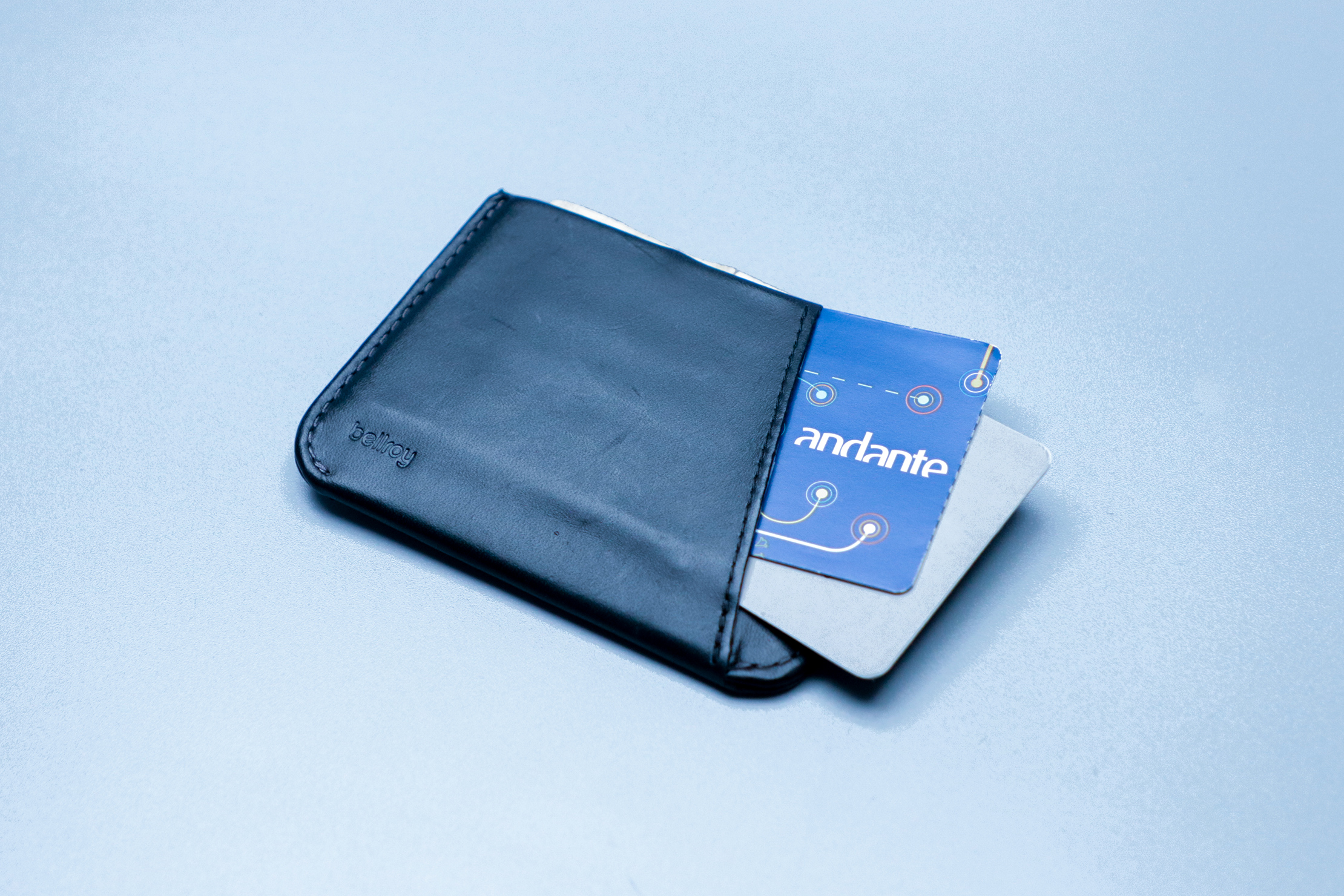Bellroy Micro Sleeve Filled with Cards