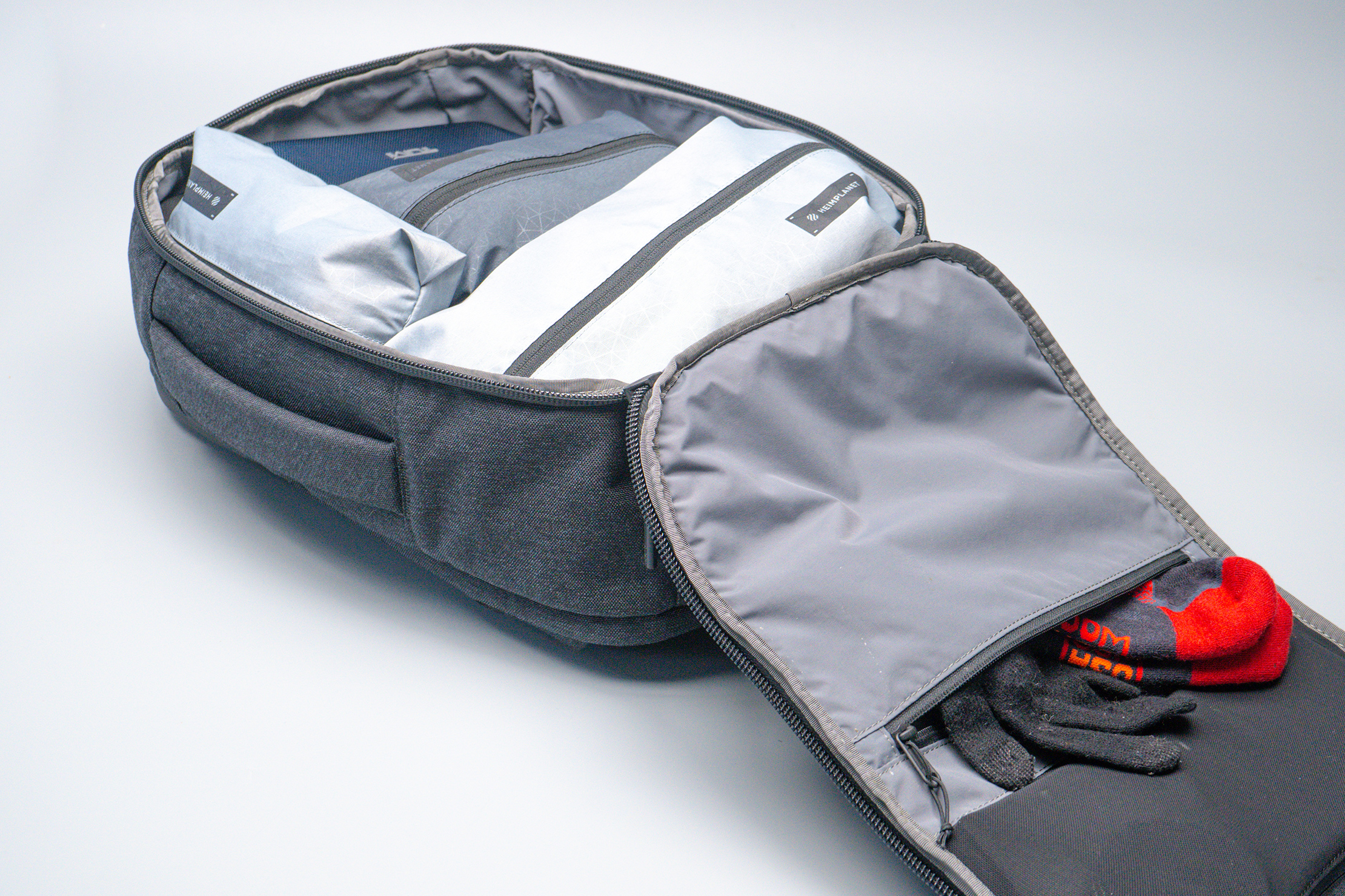 Aer x Ministry of Supply Lunar Pack Main Compartment Filled