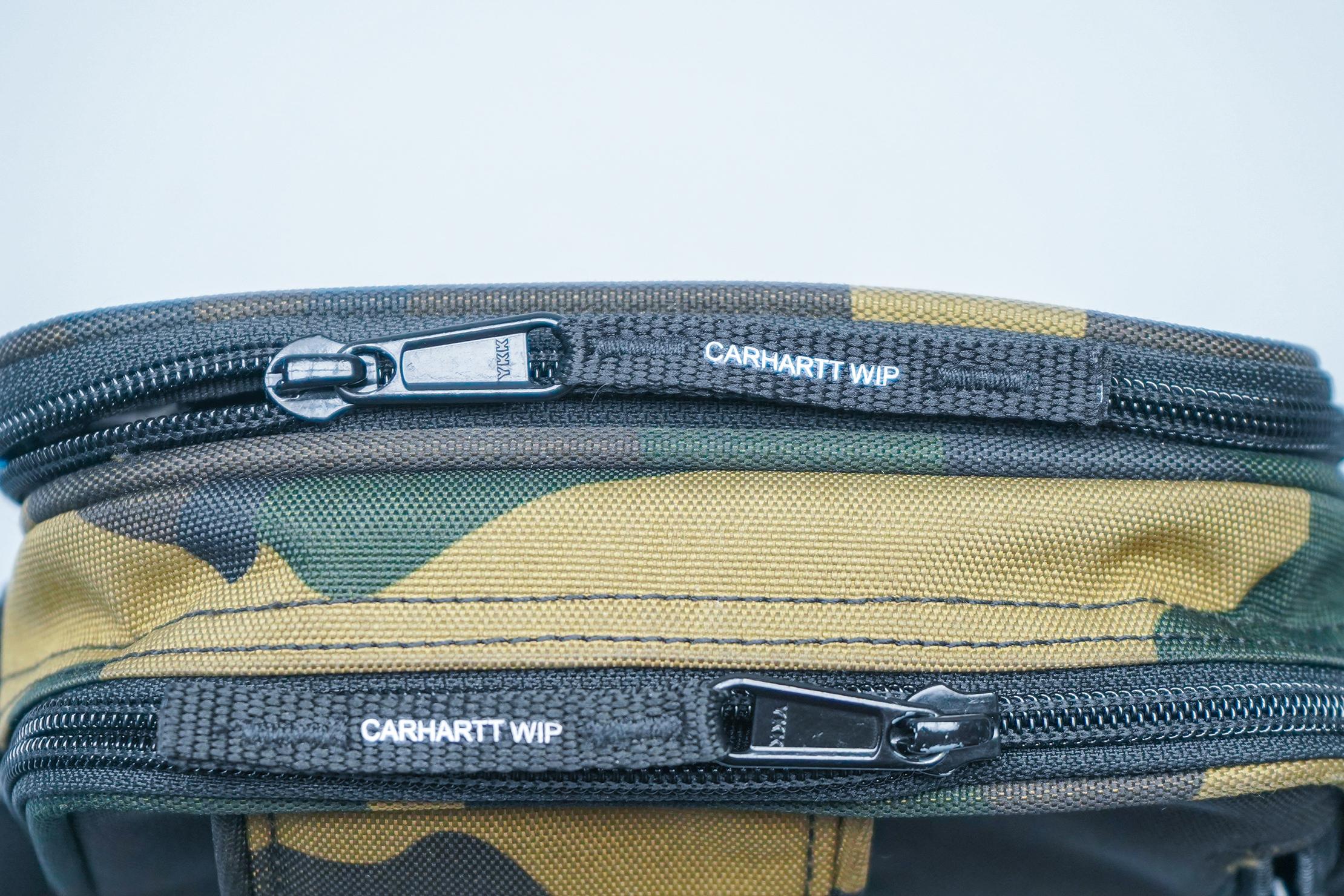Carhartt WIP Essentials Bag YKK zippers
