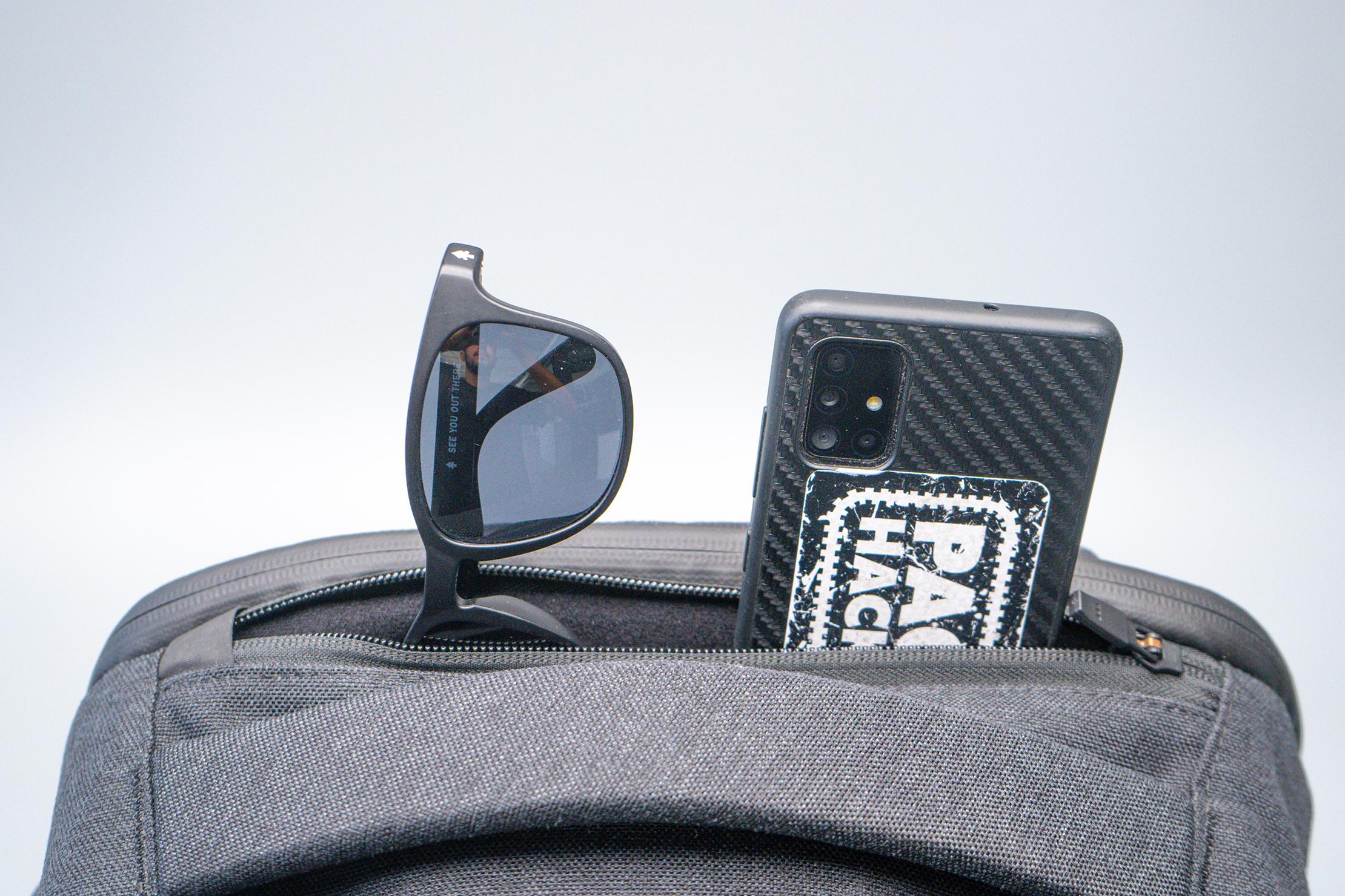 Aer x Ministry of Supply Lunar Pack Quick Grab Pocket