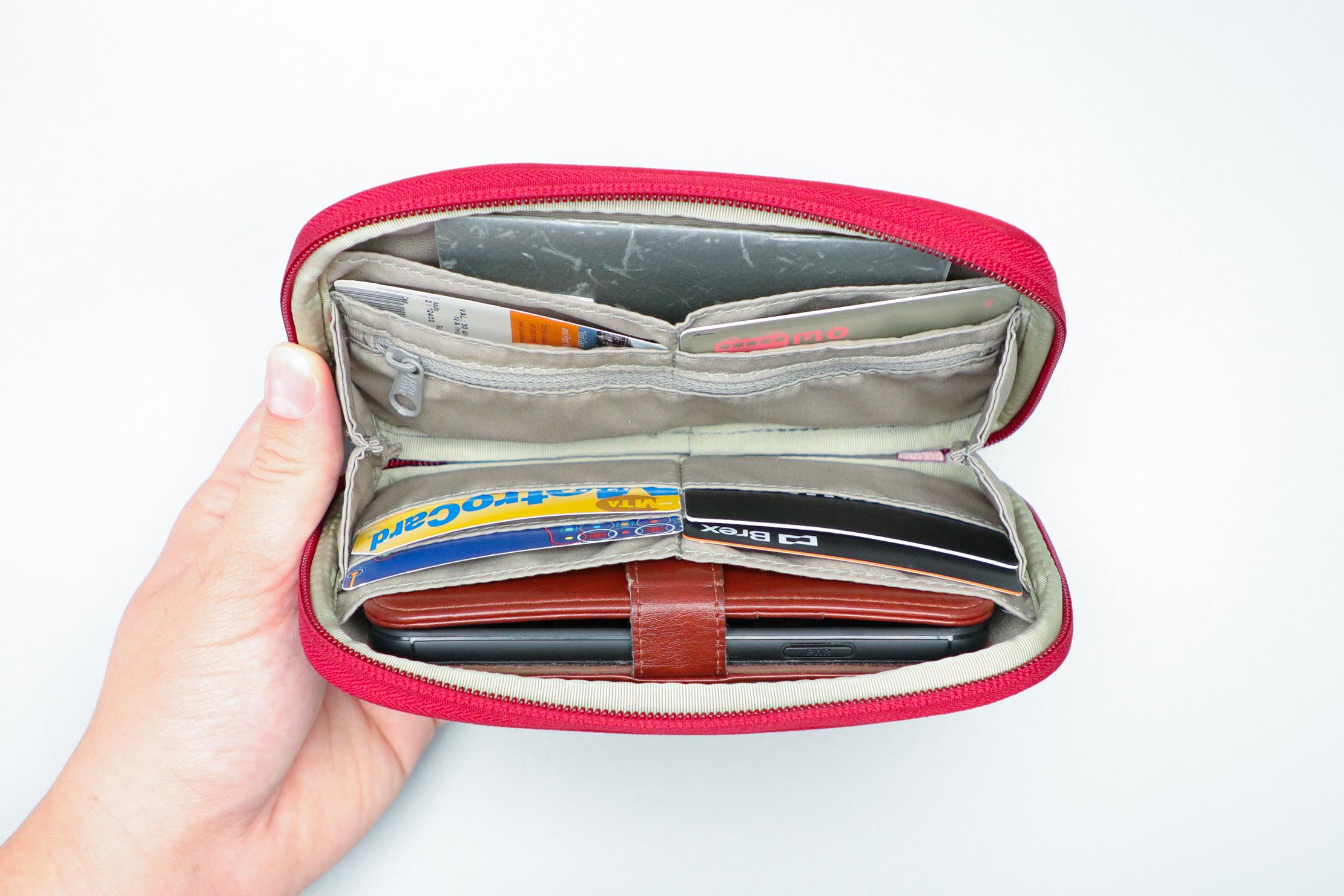 Fjallraven Kanken Travel Wallet Filled