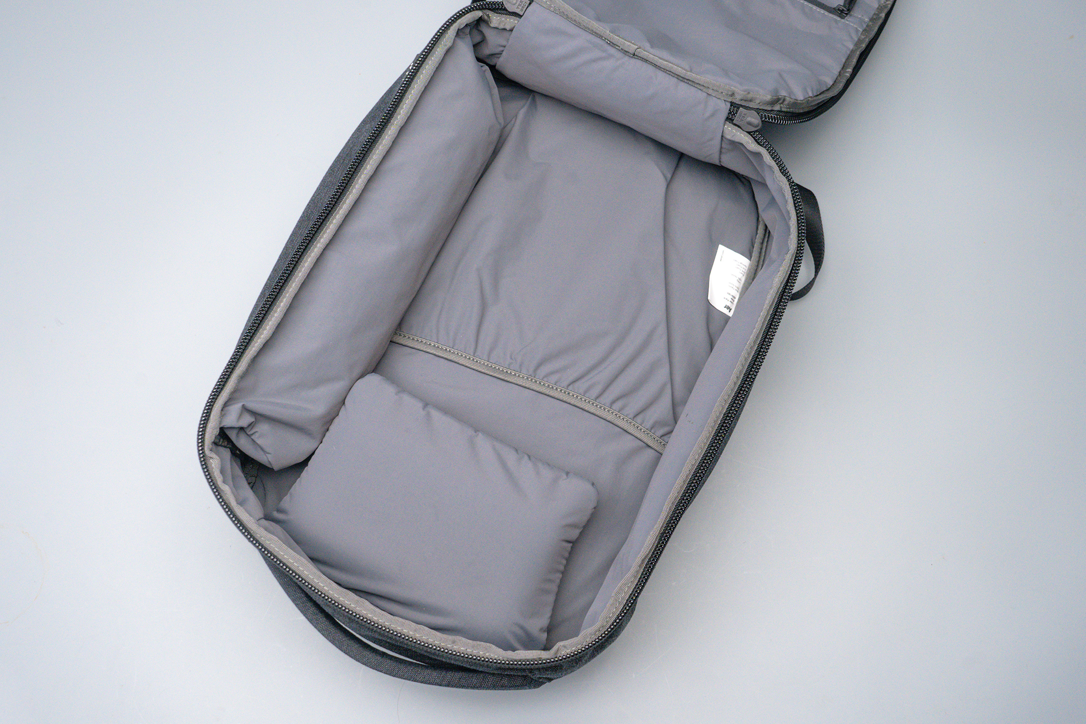 Aer x Ministry of Supply Lunar Pack Main Compartment Empty