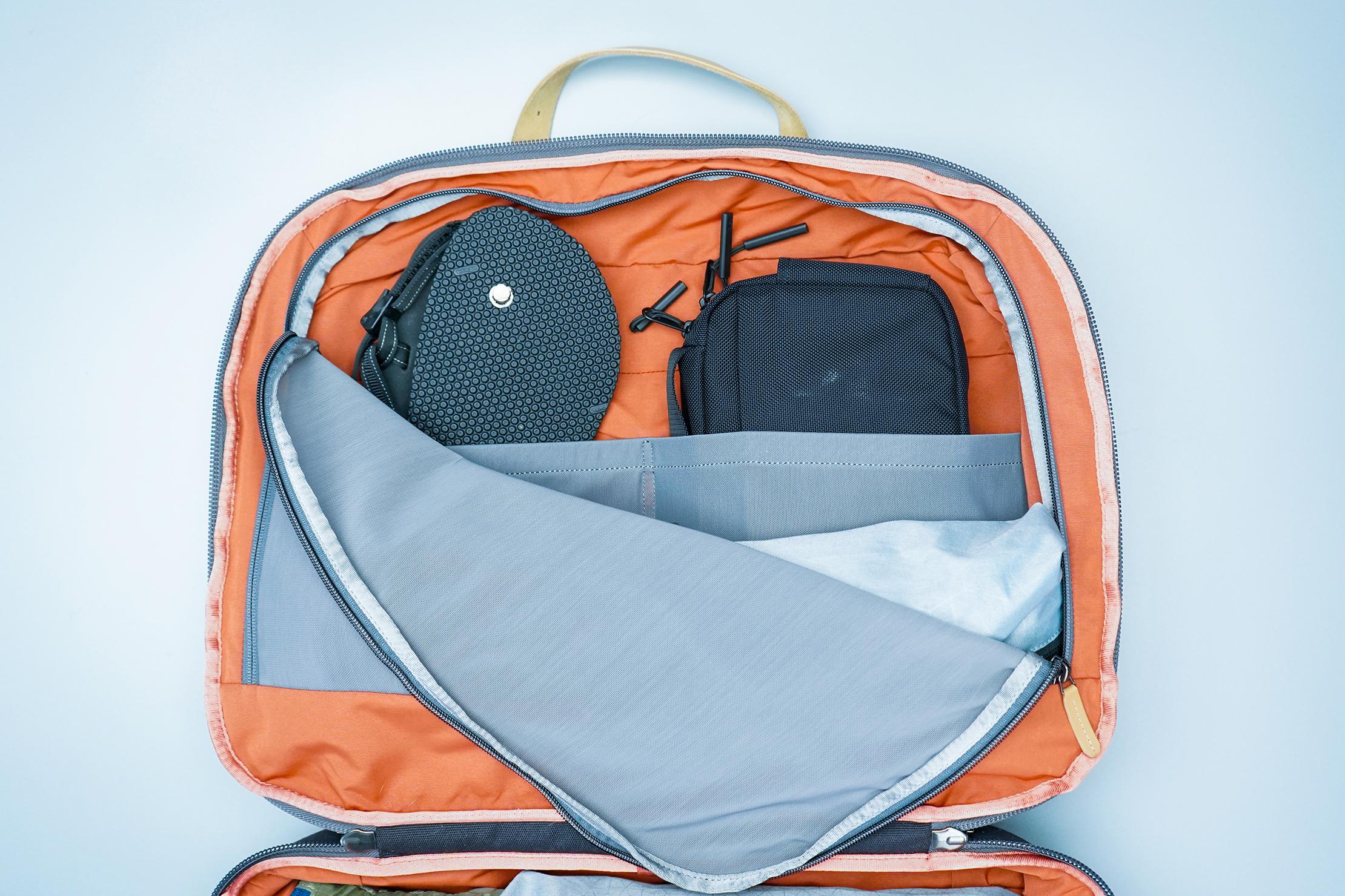 Bellroy Flight Bag Interior Mesh Compartment