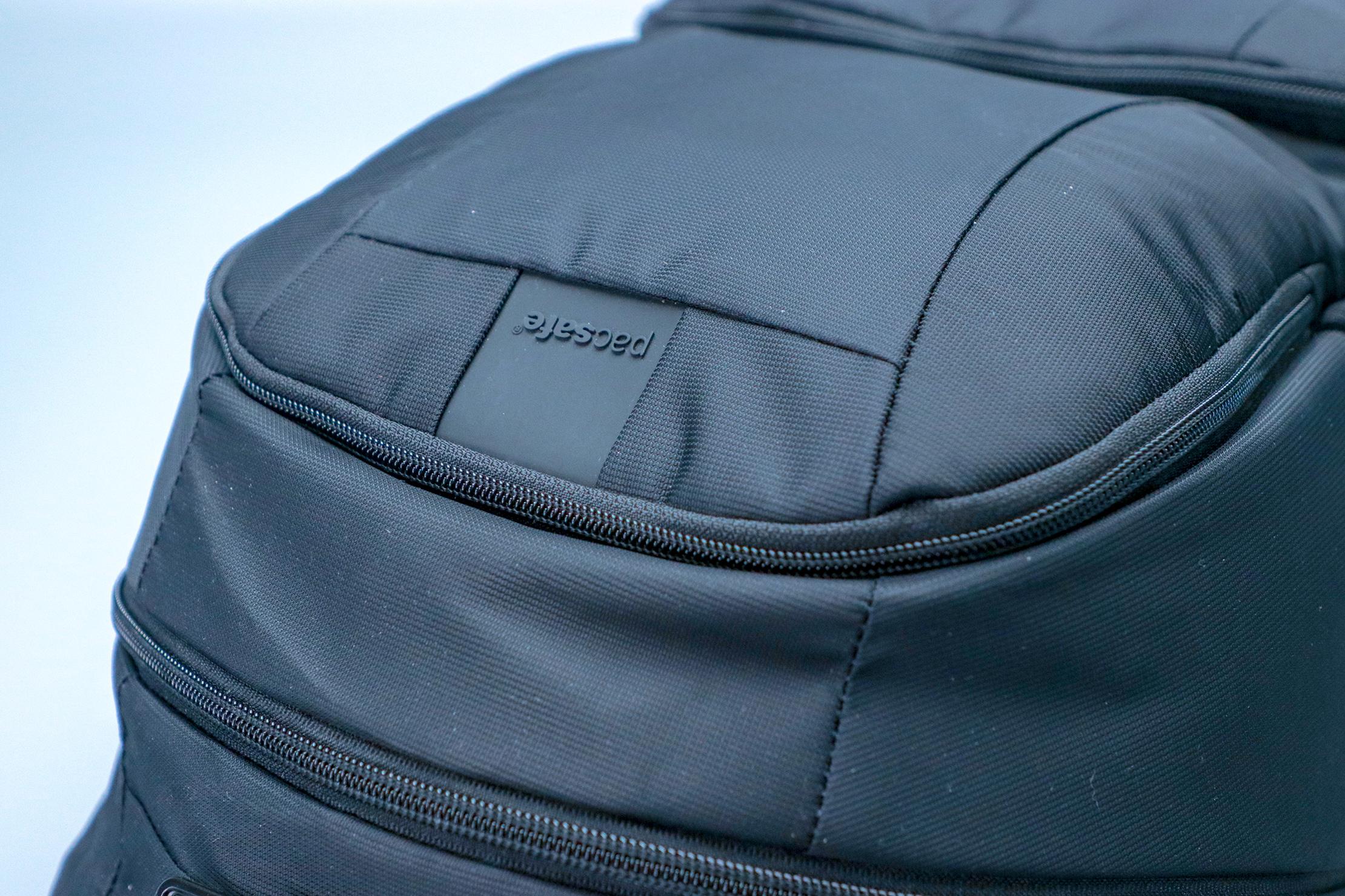 Pacsafe Metrosafe LS450 Anti-Theft Backpack Logo Material