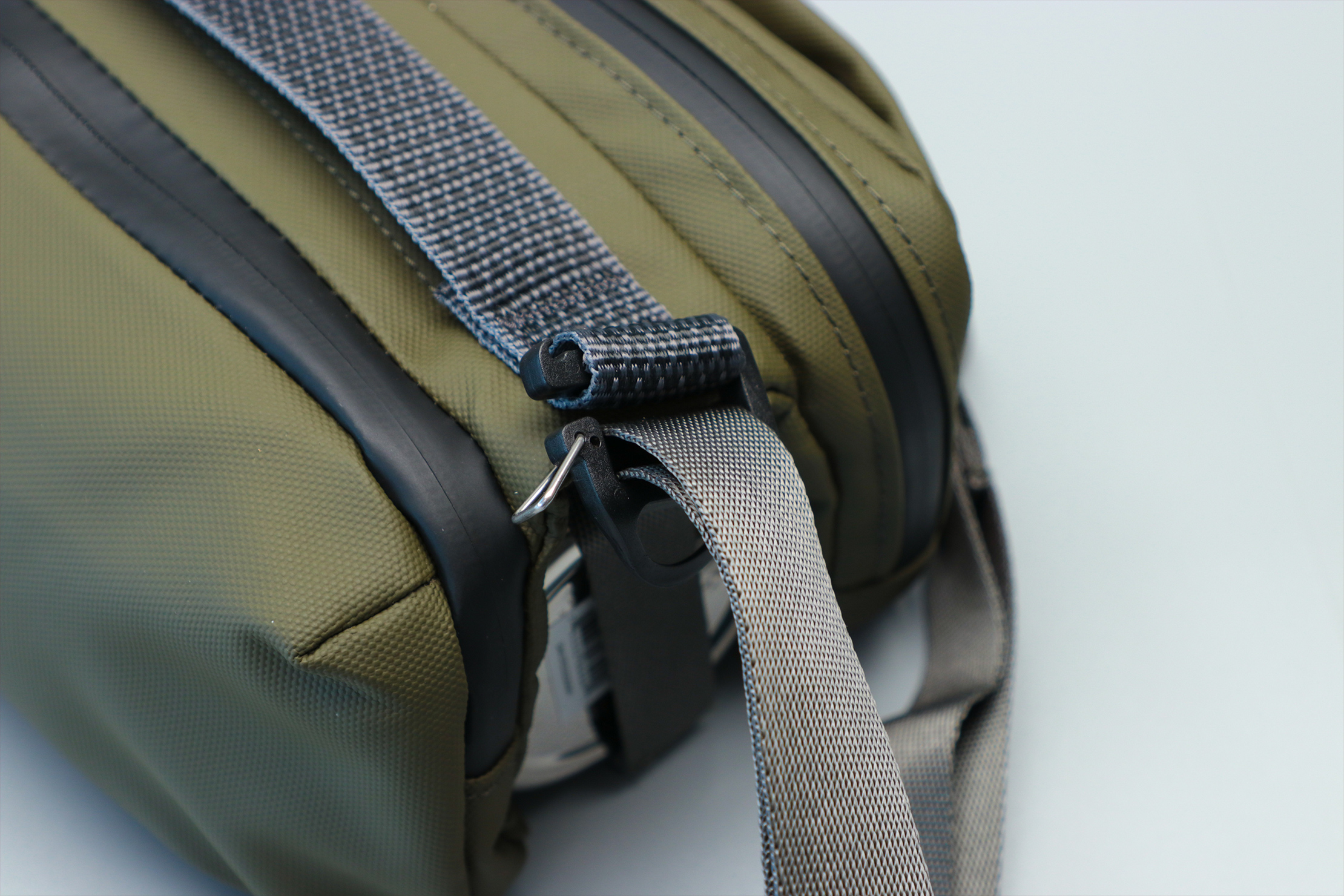 Topologie Brick Pouch Strap Closeup