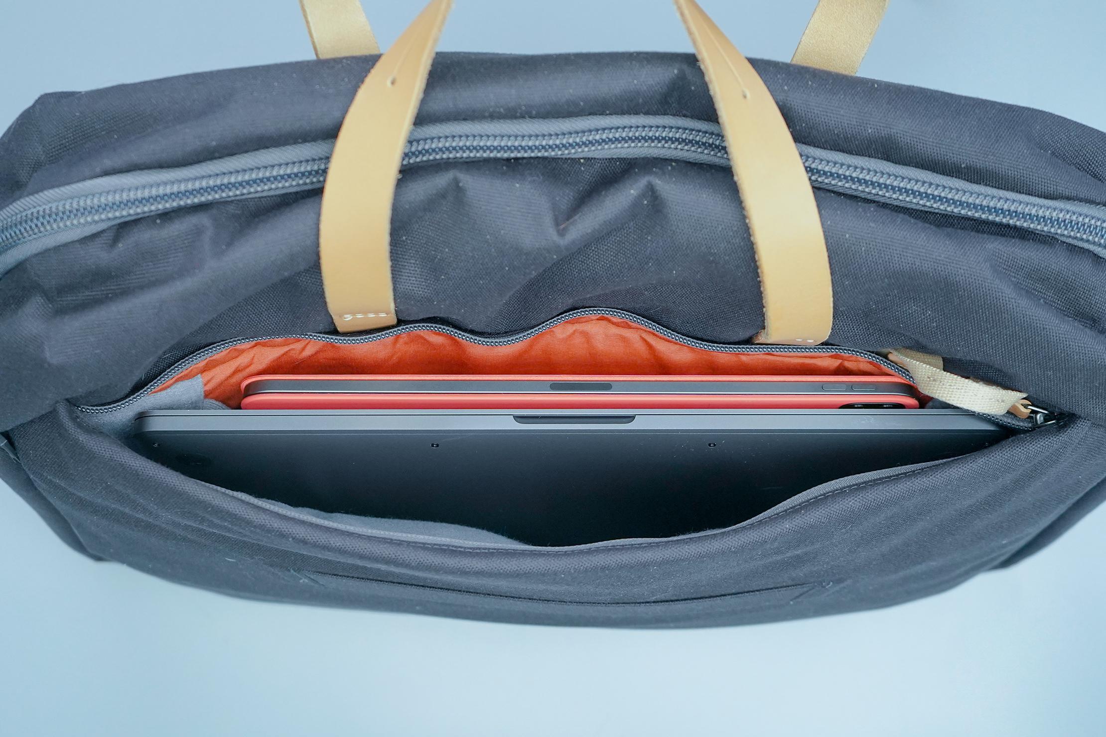 Bellroy Flight Bag Interior Laptop Pocket