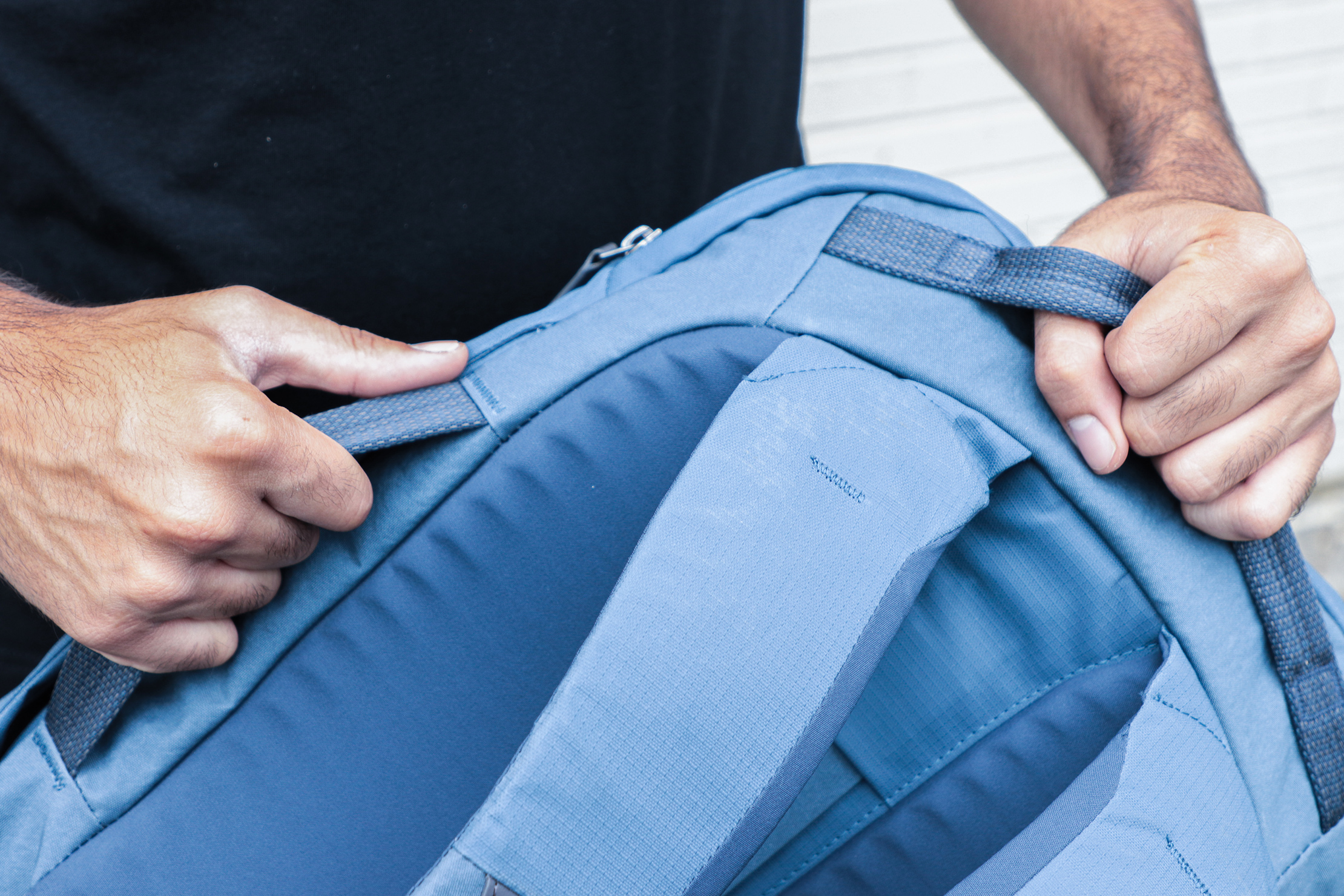 Bellroy Transit Backpack Plus Top and Side Handles