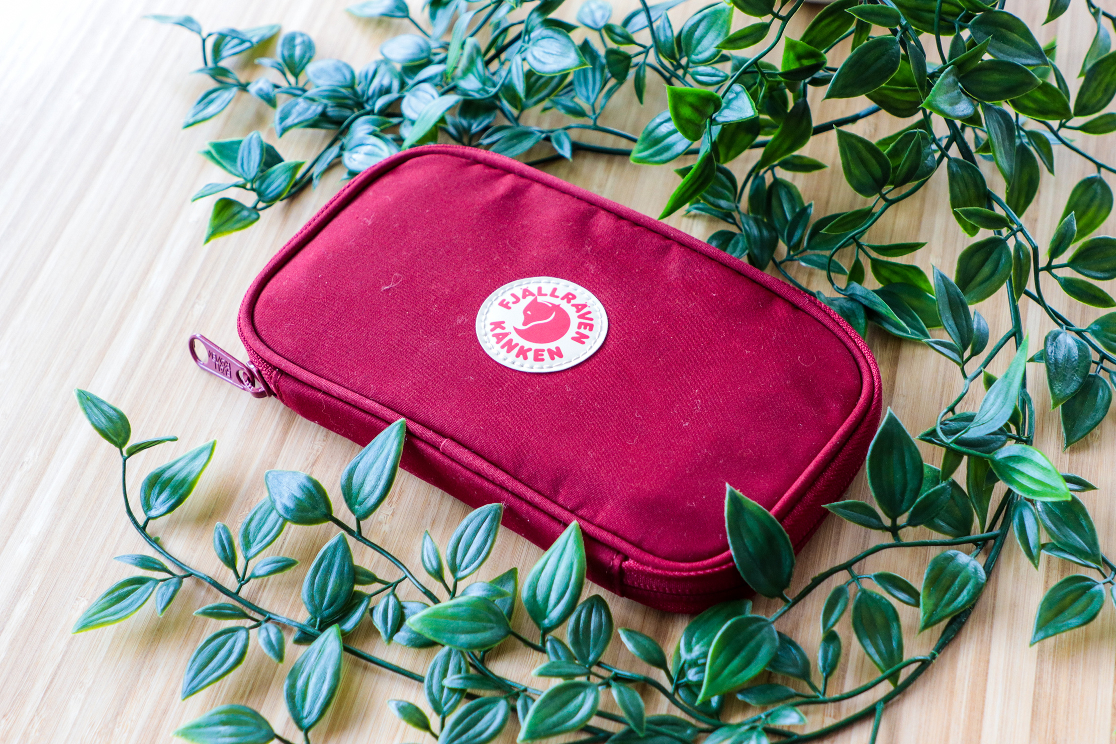 Fjallraven Kanken Travel Wallet With Plants