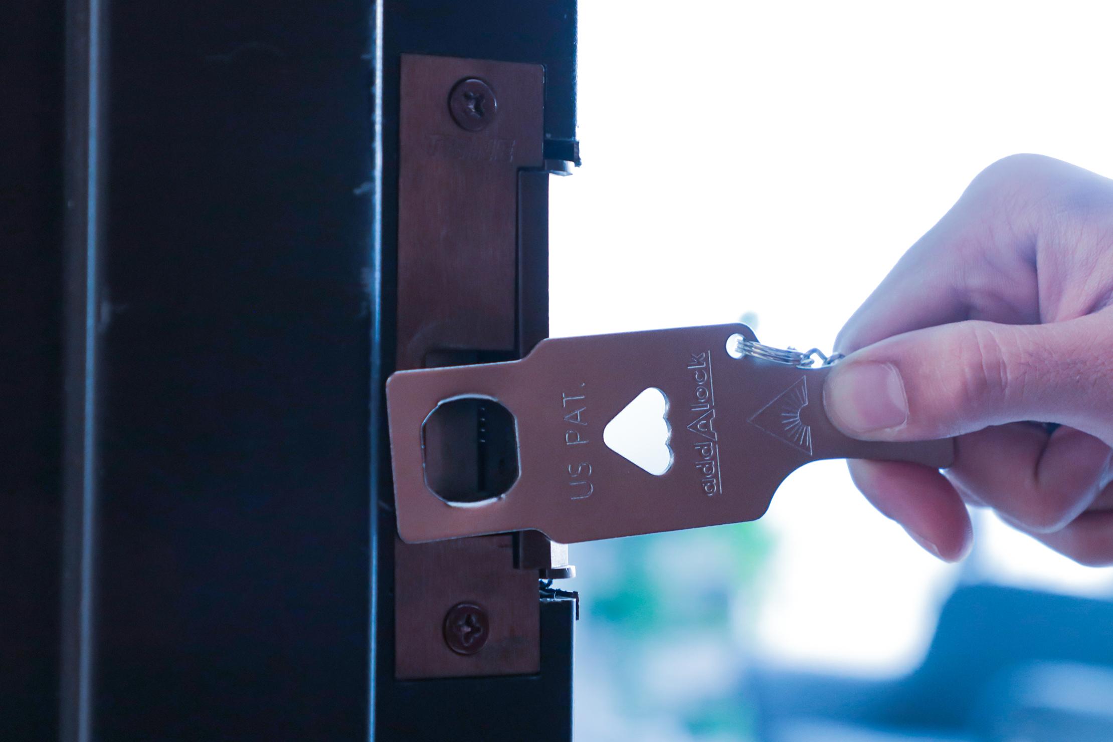 Addalock Portable Door Lock Fit in Door
