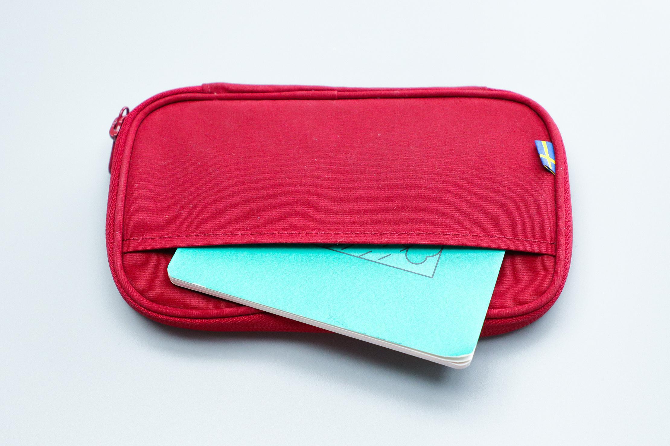 Fjallraven Kanken Travel Wallet Back Pocket