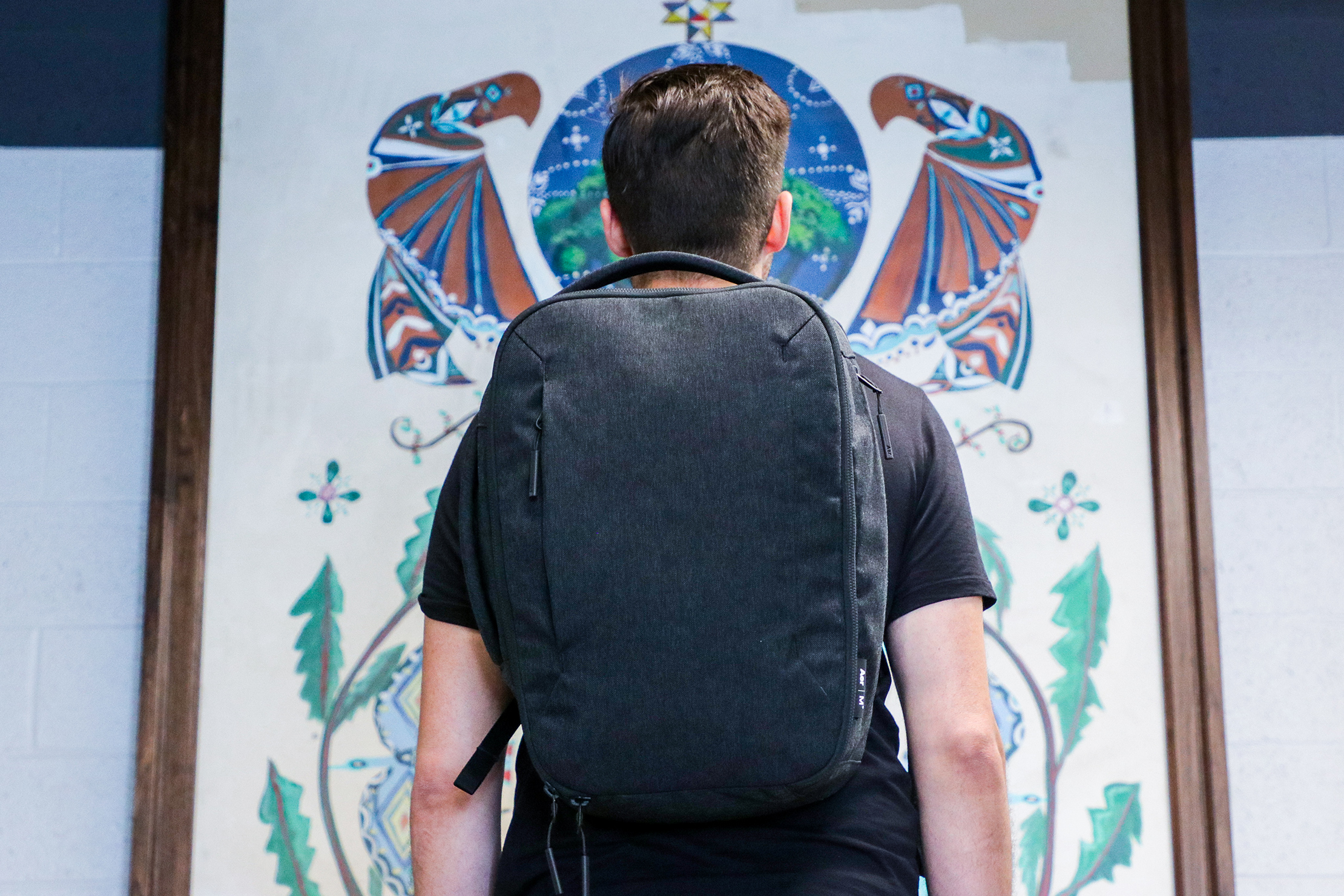Aer x Ministry of Supply Lunar Pack Usage 2