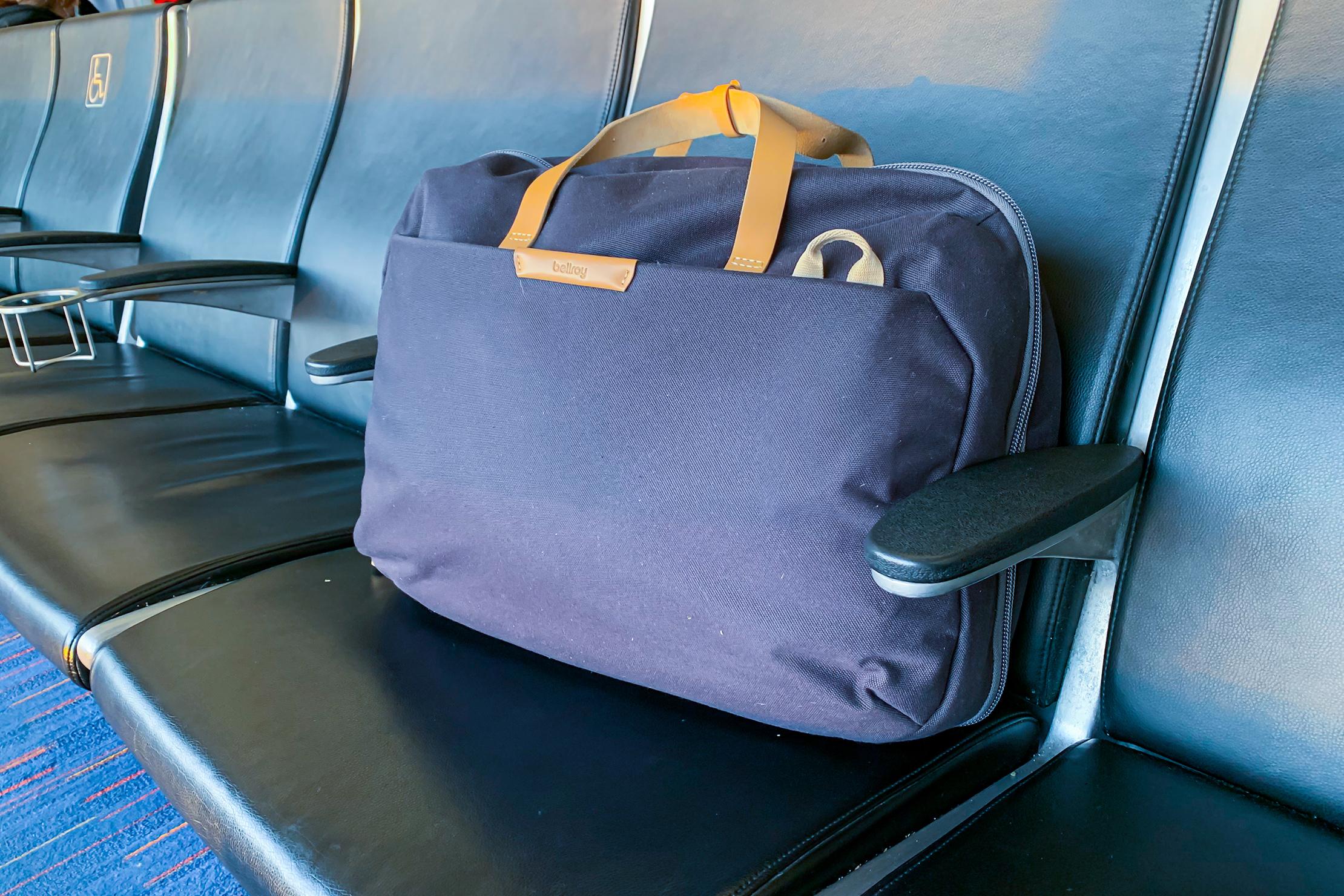 Bellroy Flight Bag At Airport