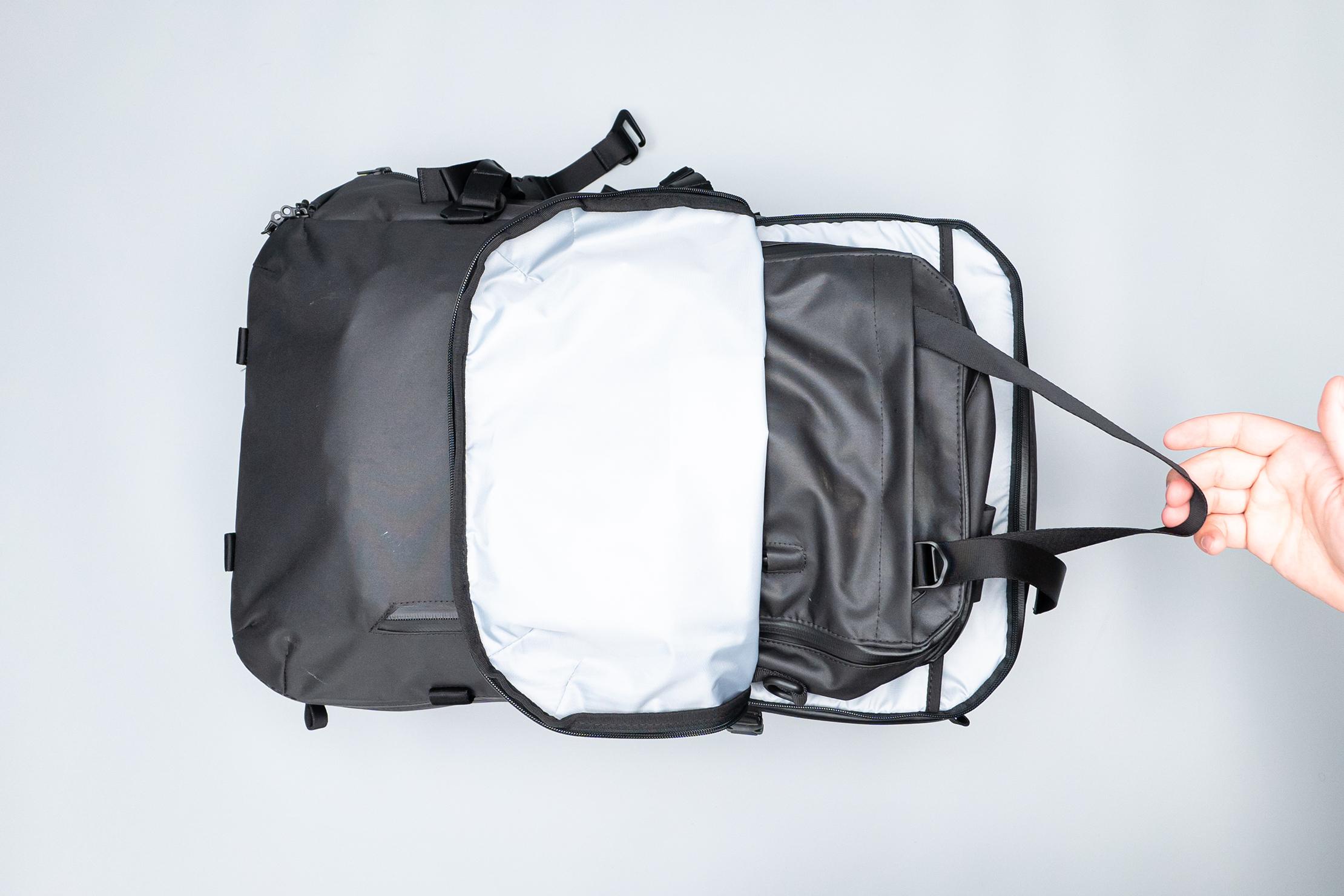 Gravel Backpack Travel System 11L Inside 42L