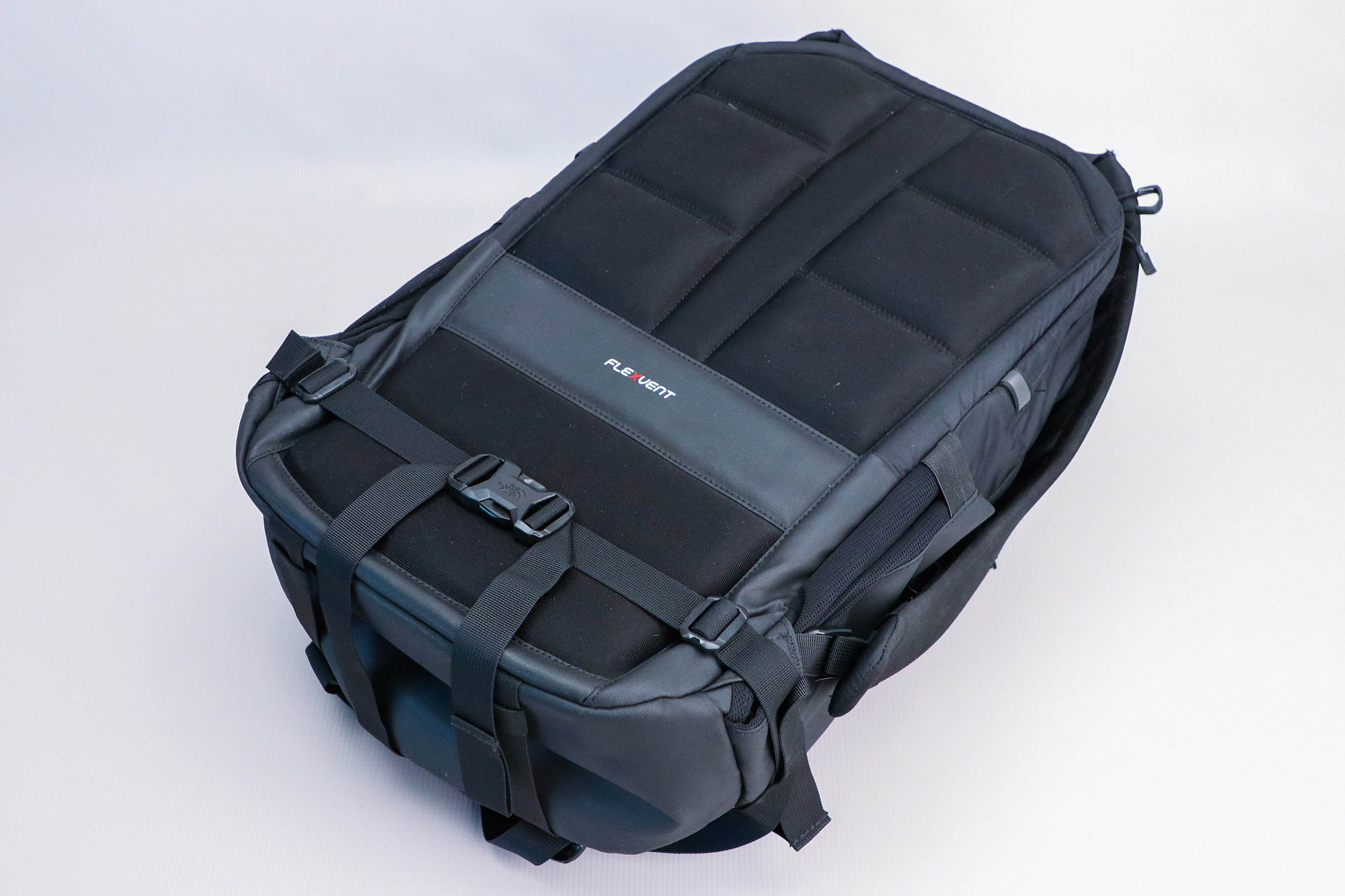 The North Face Surge Backpack back panel