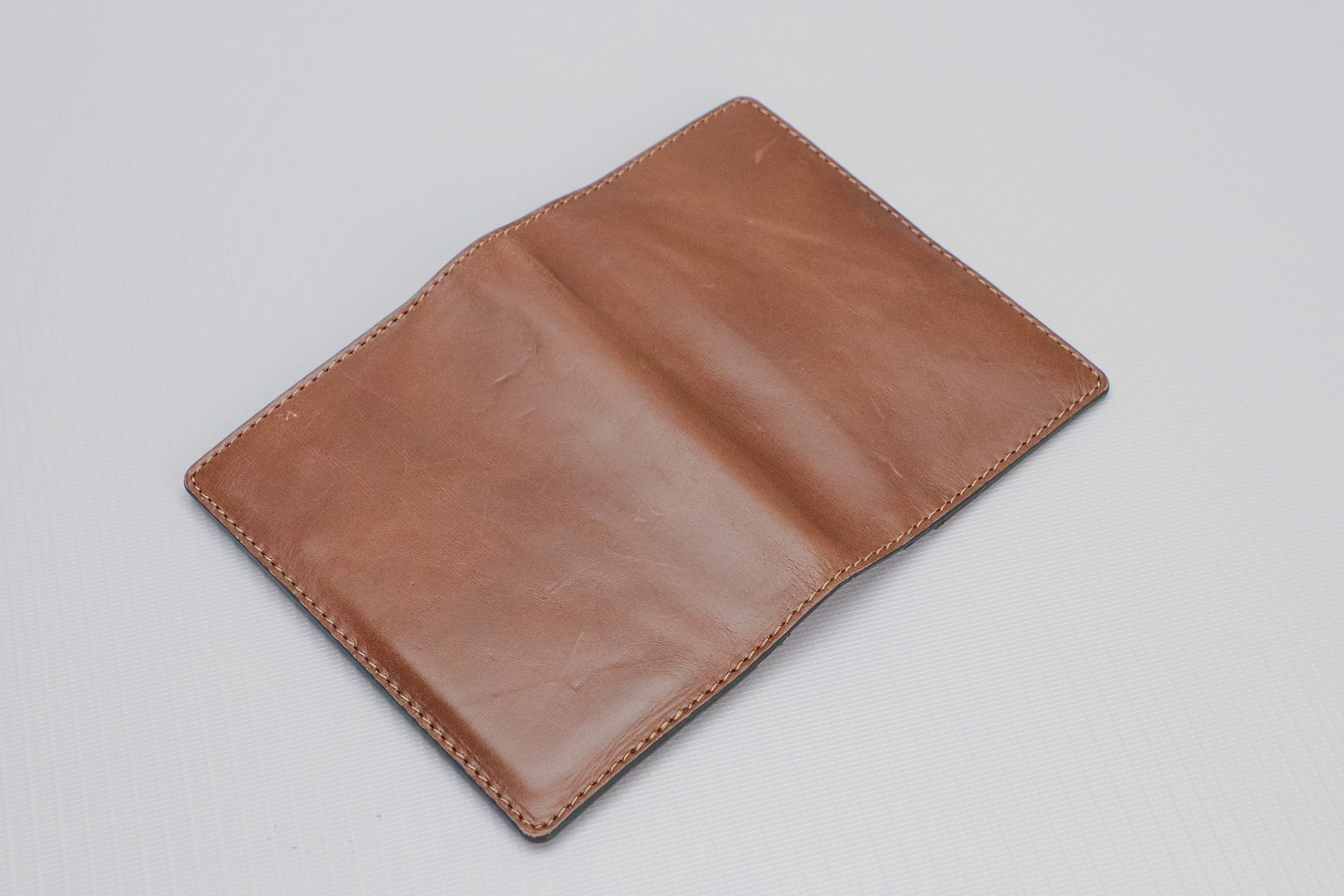 Nomad Goods Traditional Passport Wallet Flipped Upside Down