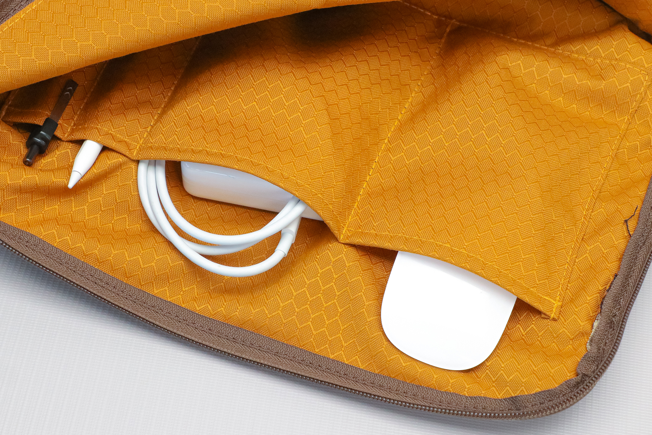 WaterField Designs Air Caddy Main Compartment Pockets