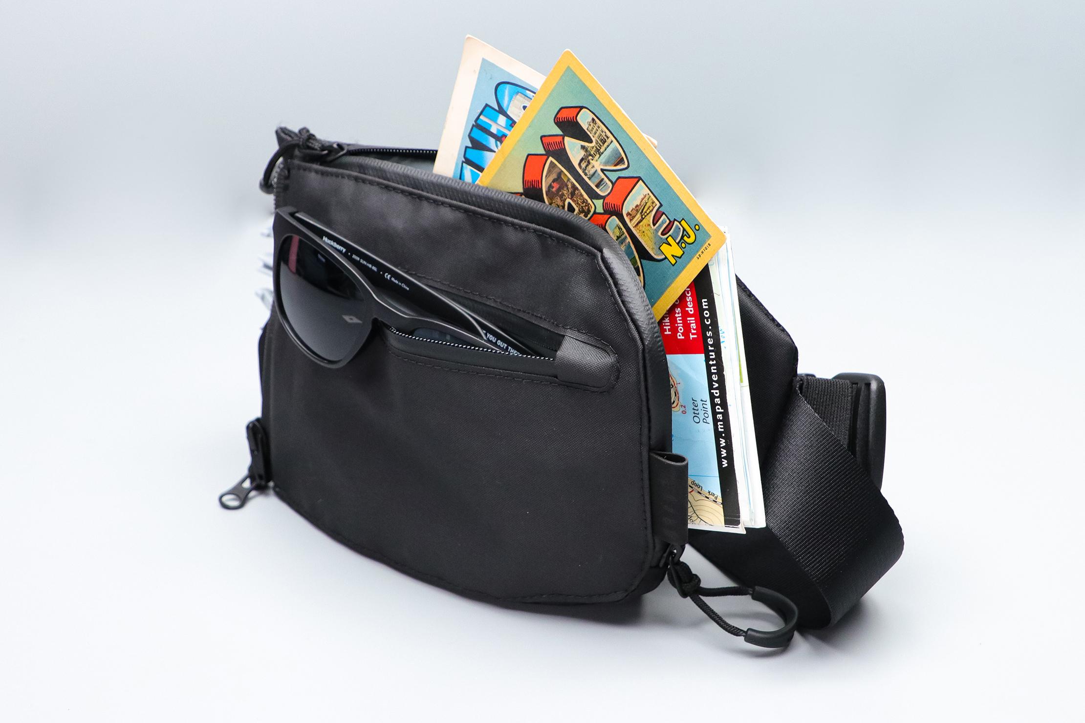 Gravel Backpack Travel System Hip Strap Packed