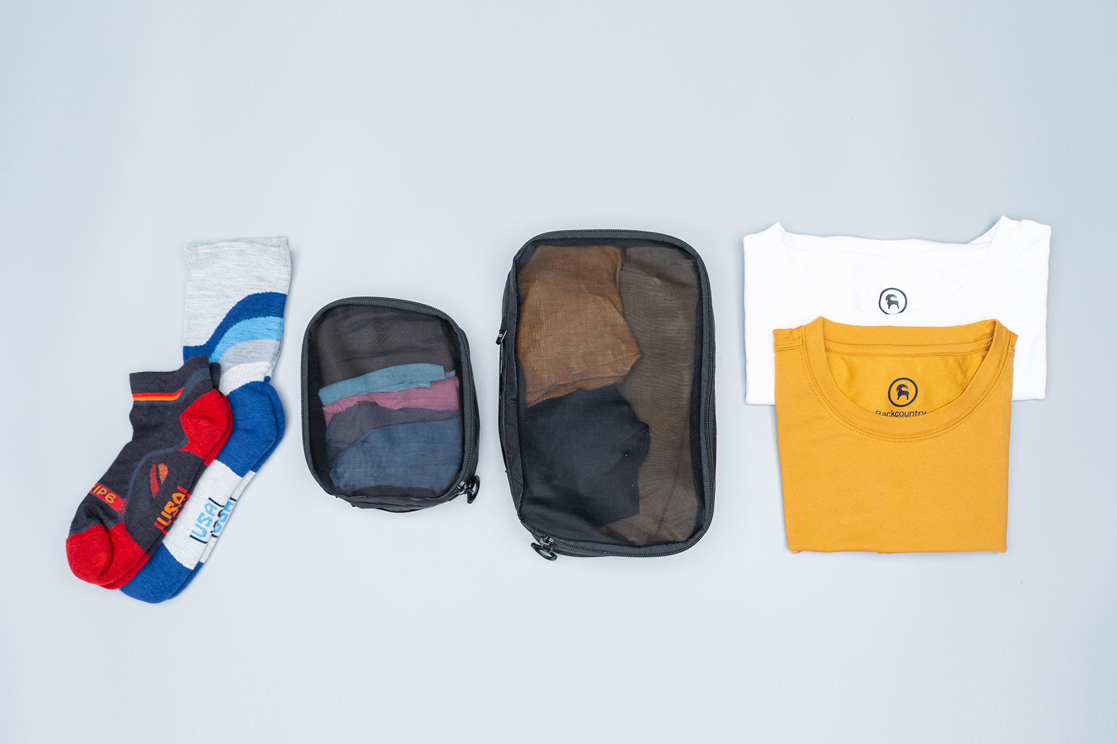 WANDRD Packing Cubes Flat Lay 2