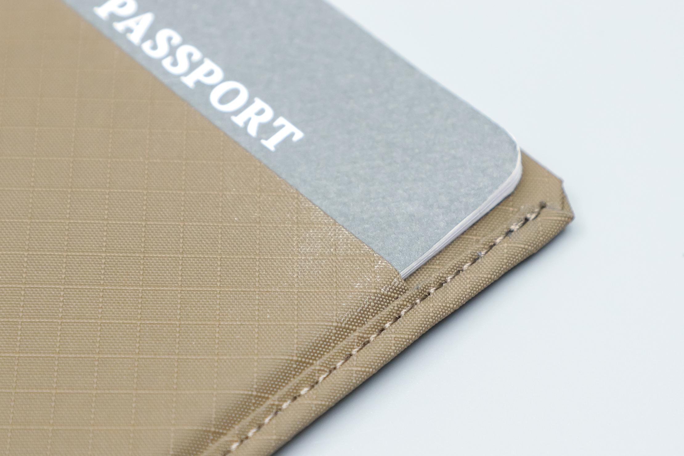 Pioneer Passport Wallet Discoloration