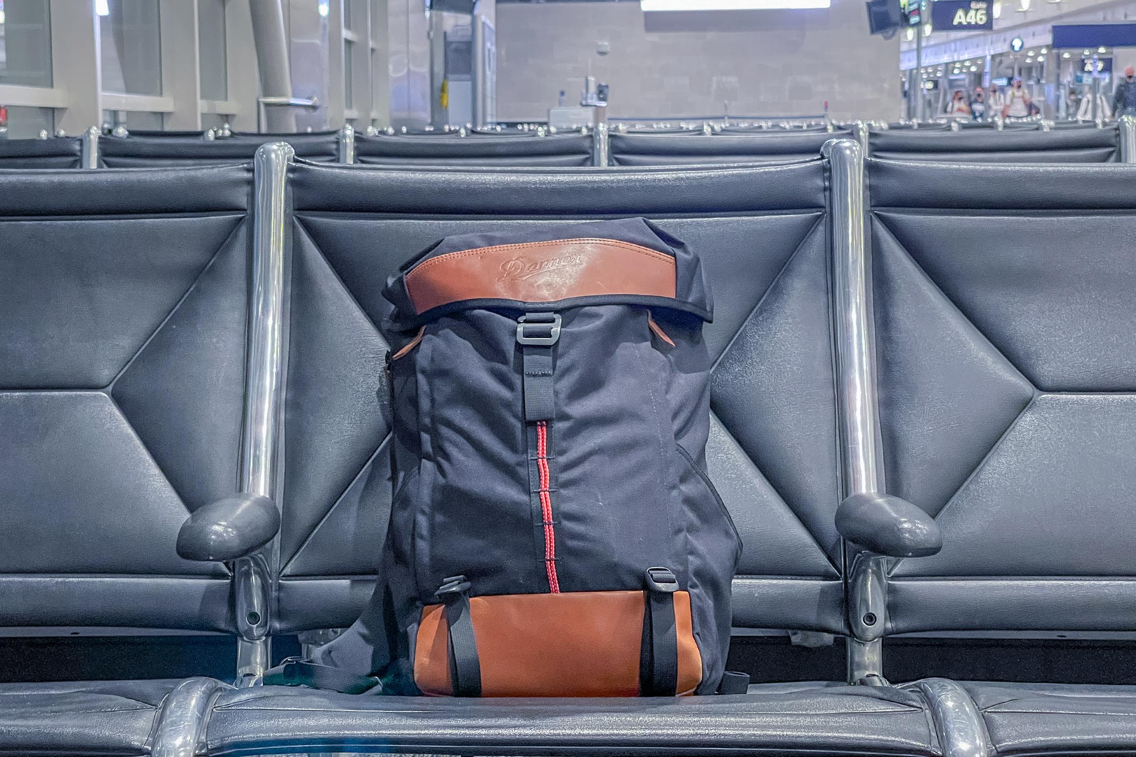 Danner 26L Daypack at Airport