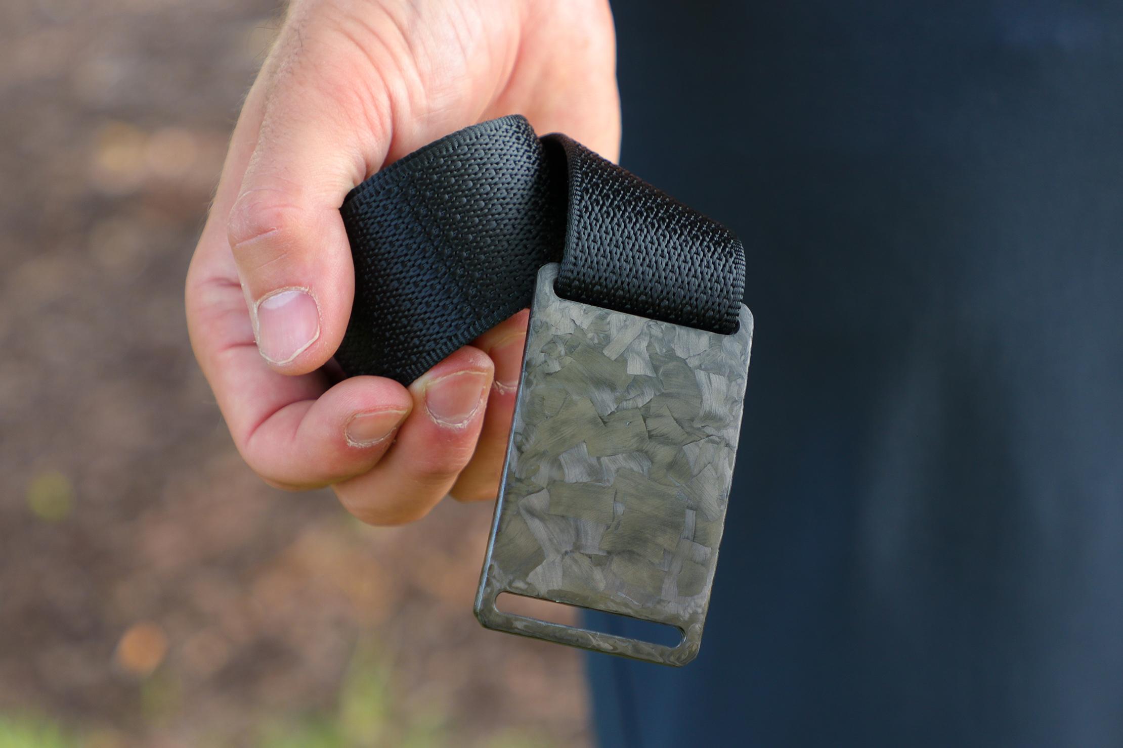 Grip6 Forged Carbon Fiber Belt Usage 4