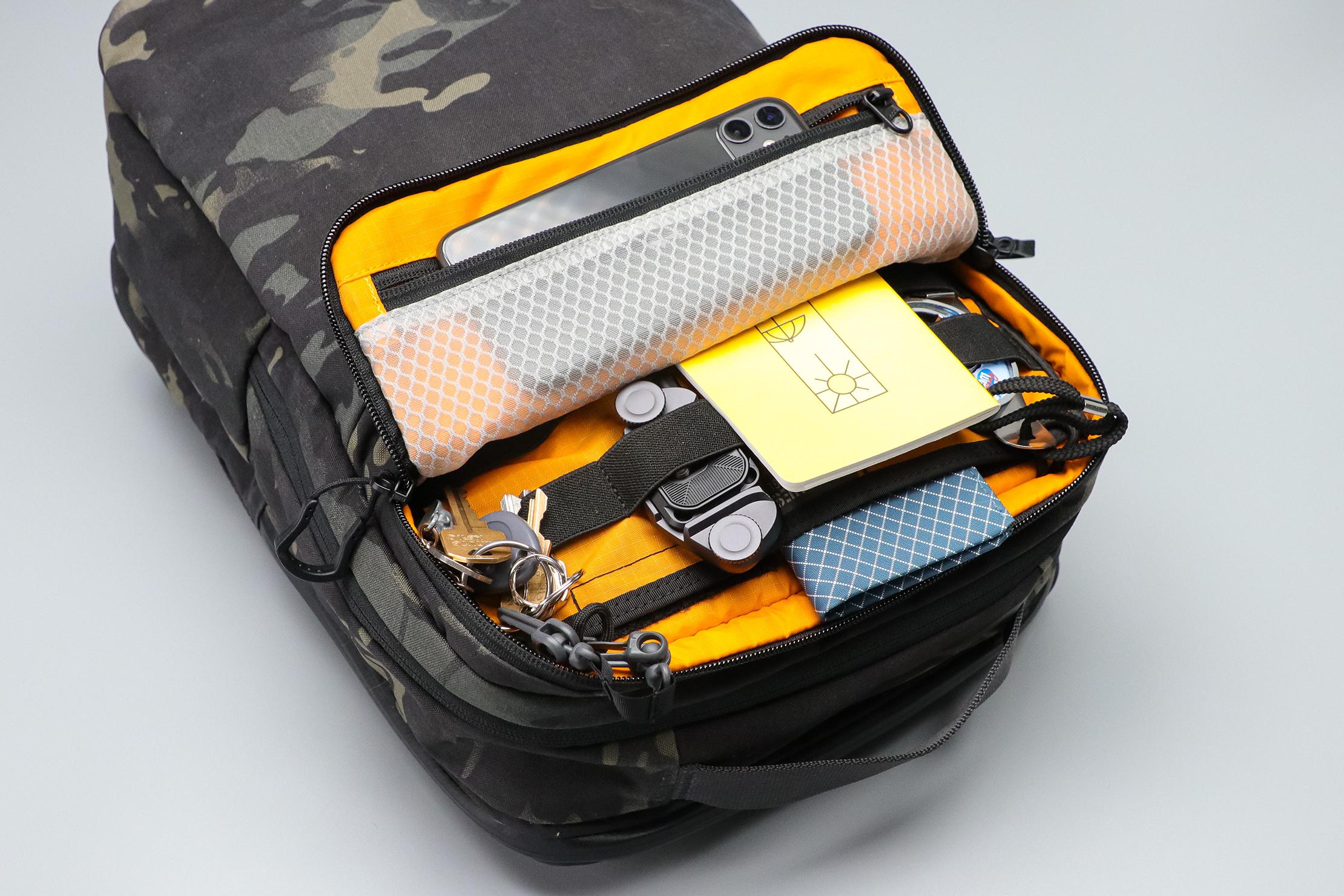 Vanquest ADDAX-18 Backpack top pocket
