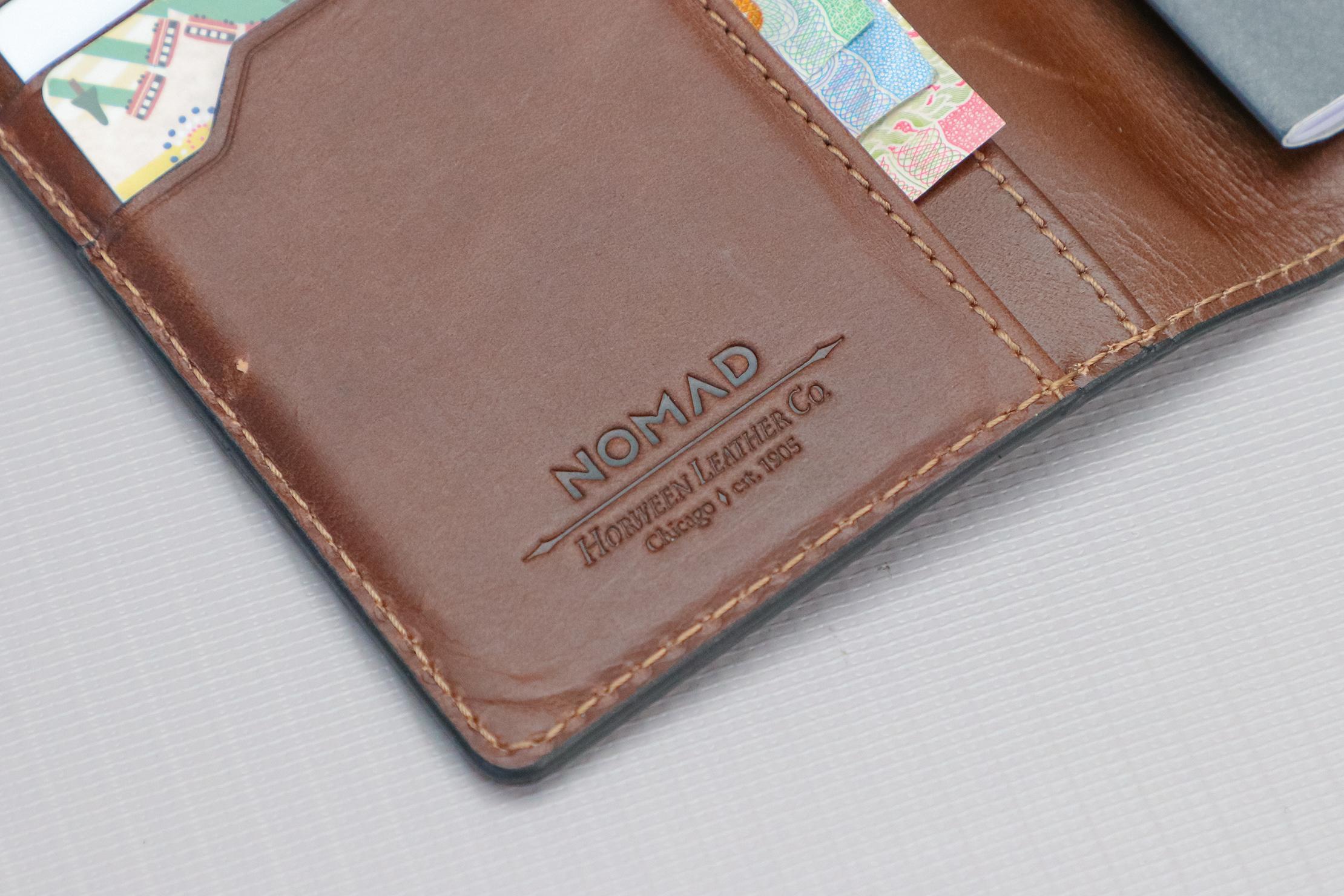 Nomad Goods Traditional Passport Wallet Logo
