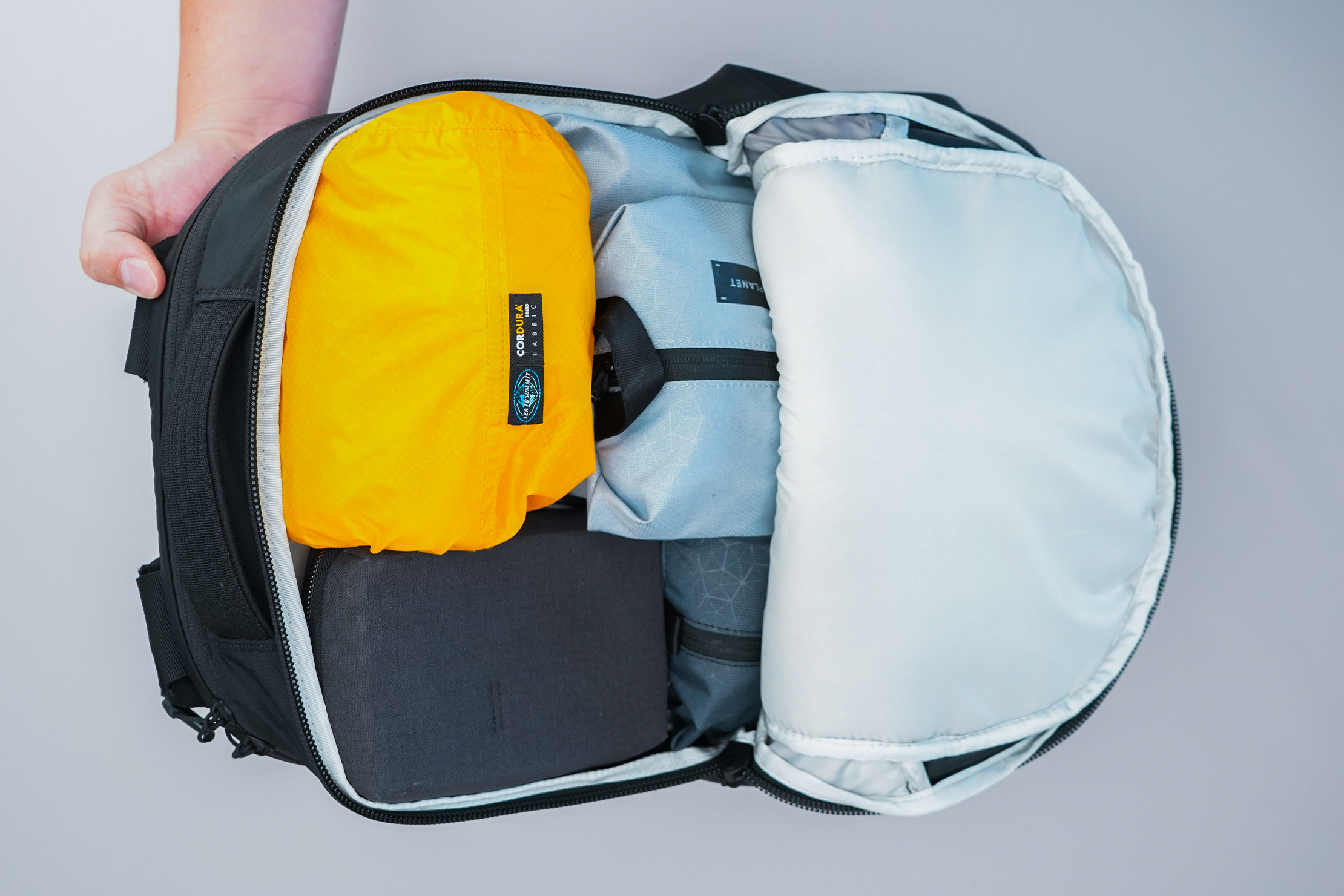 The North Face Surge Backpack main compartment