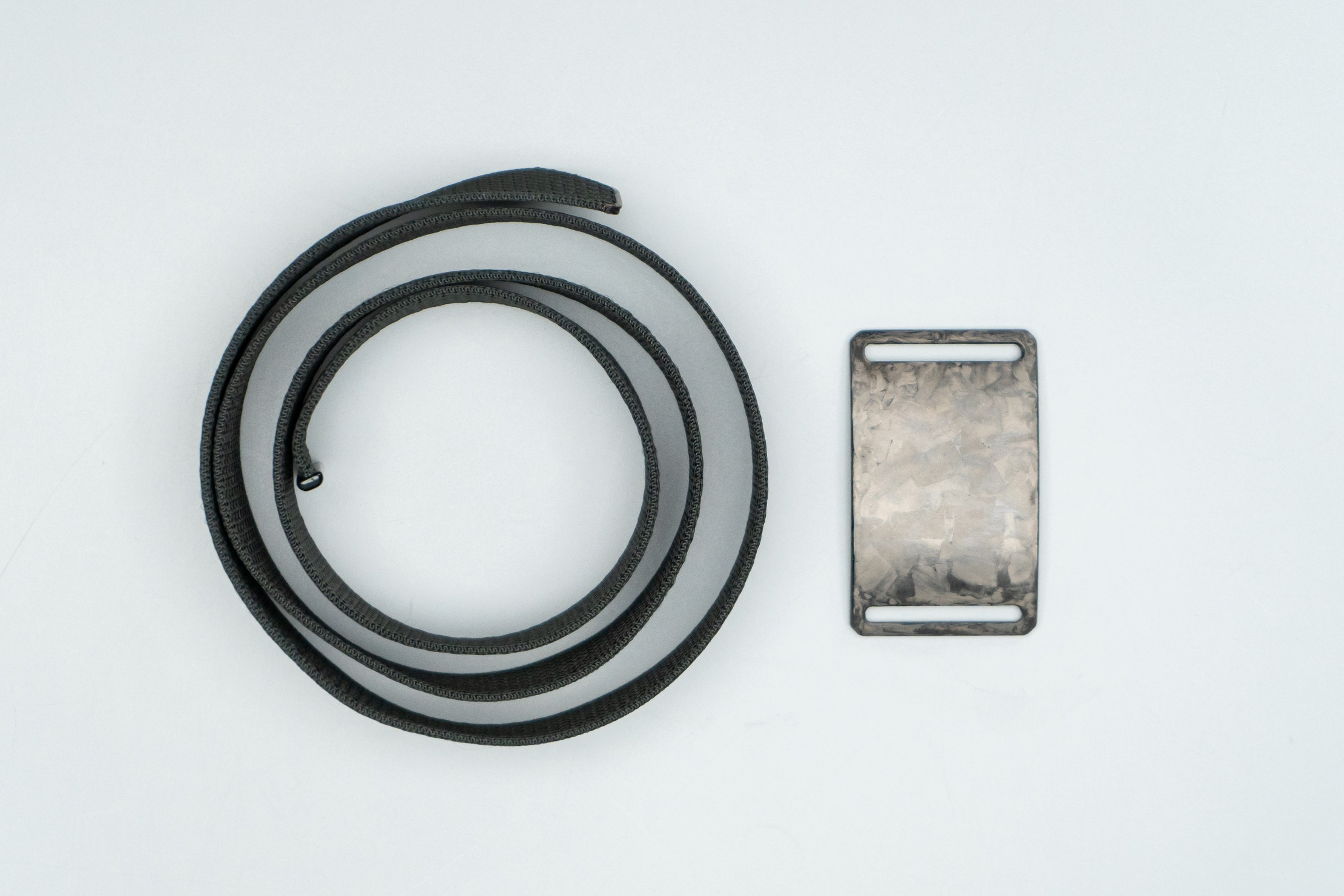 Grip6 Forged Carbon Fiber Belt Seperated