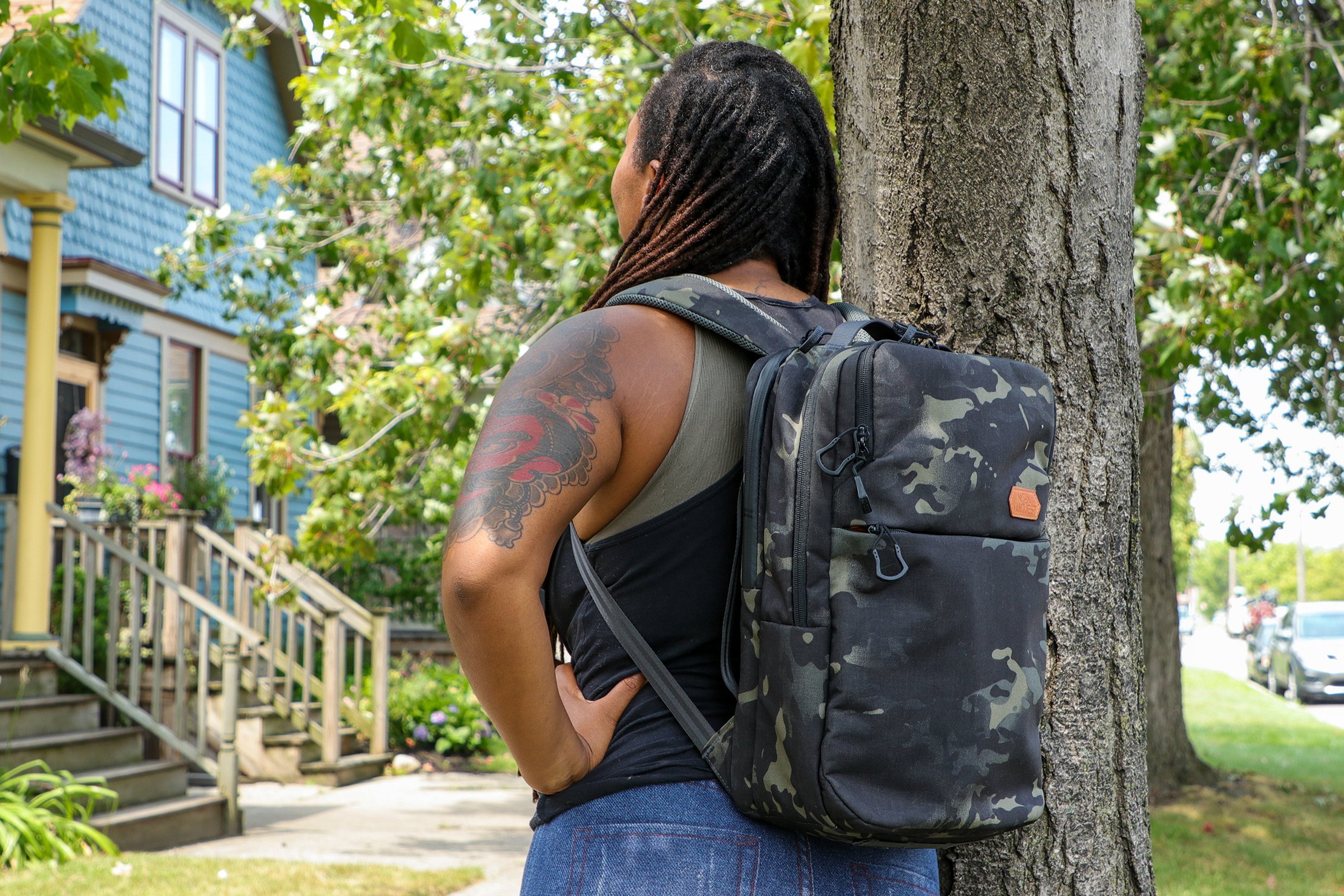 Vanquest ADDAX-18 Backpack usage image
