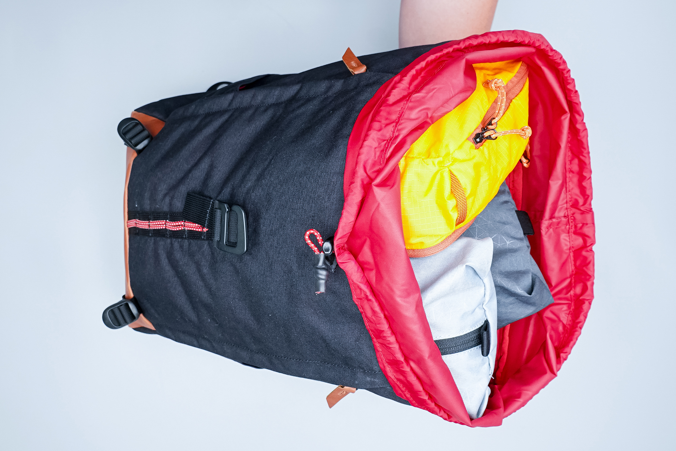Danner 26L Daypack Red Interior with Packing Cubes