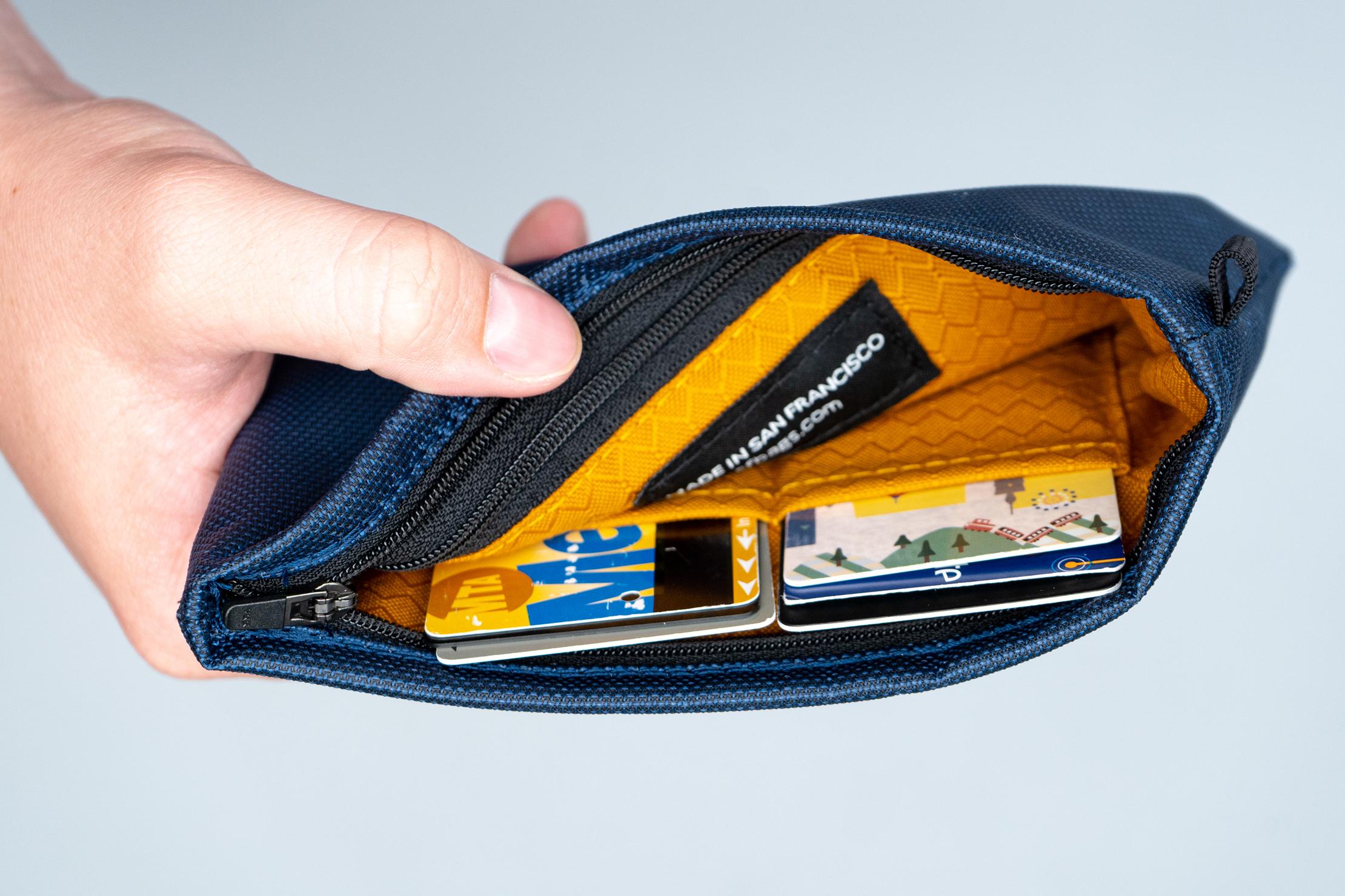 WaterField Designs Travel Wallet pockets