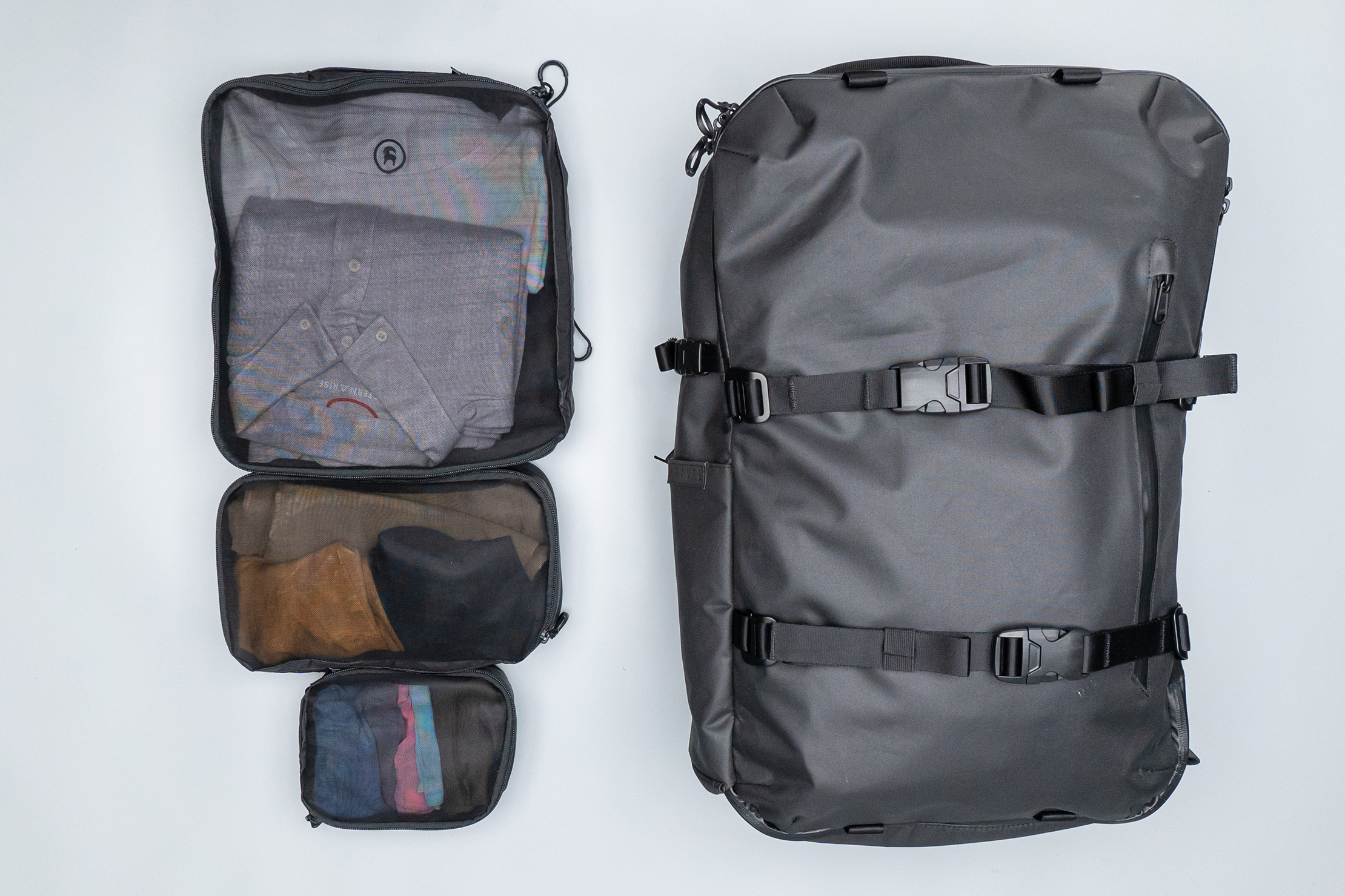 WANDRD Packing Cubes with Gravel 42L