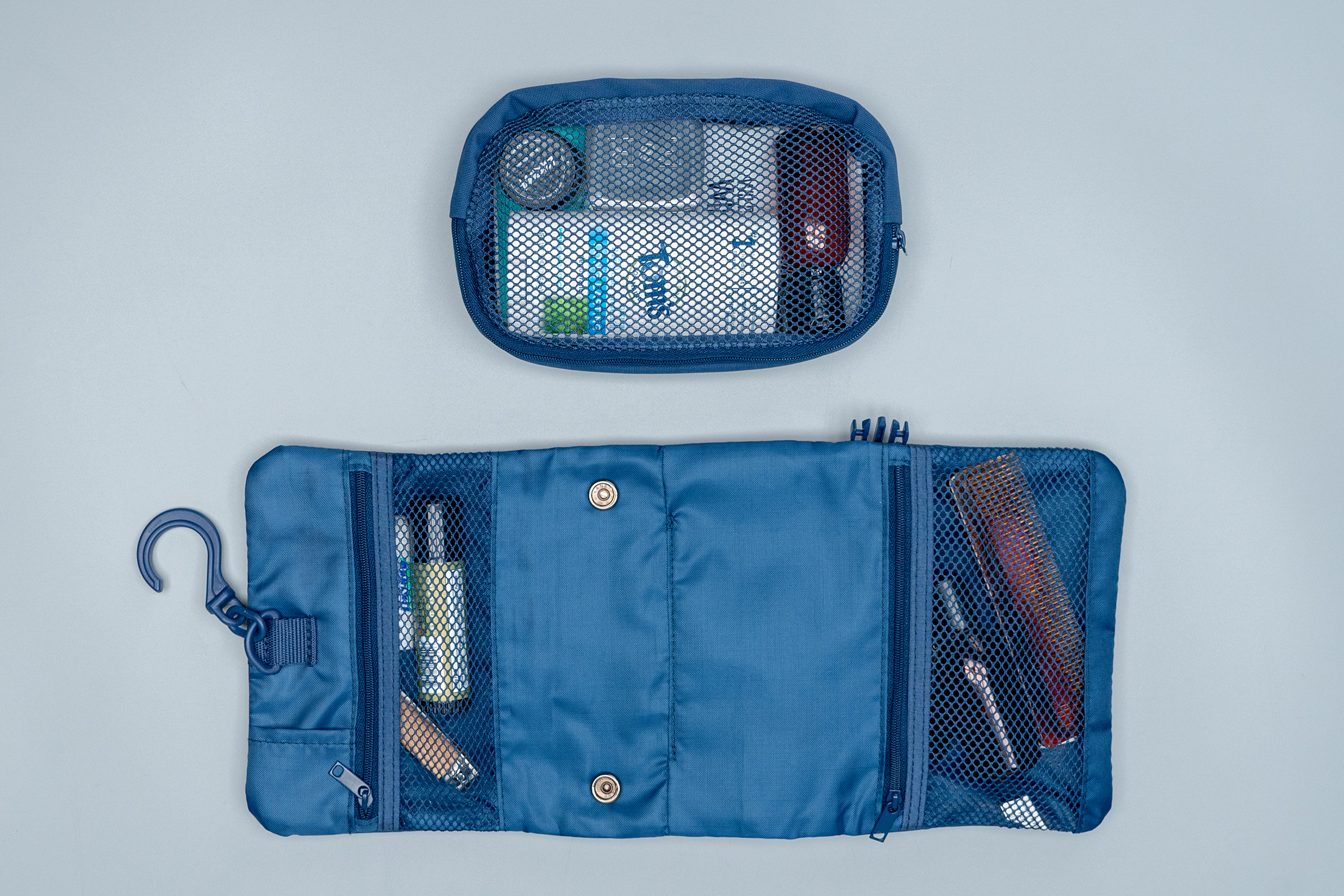 Muji Hanging Case With Pouches separated