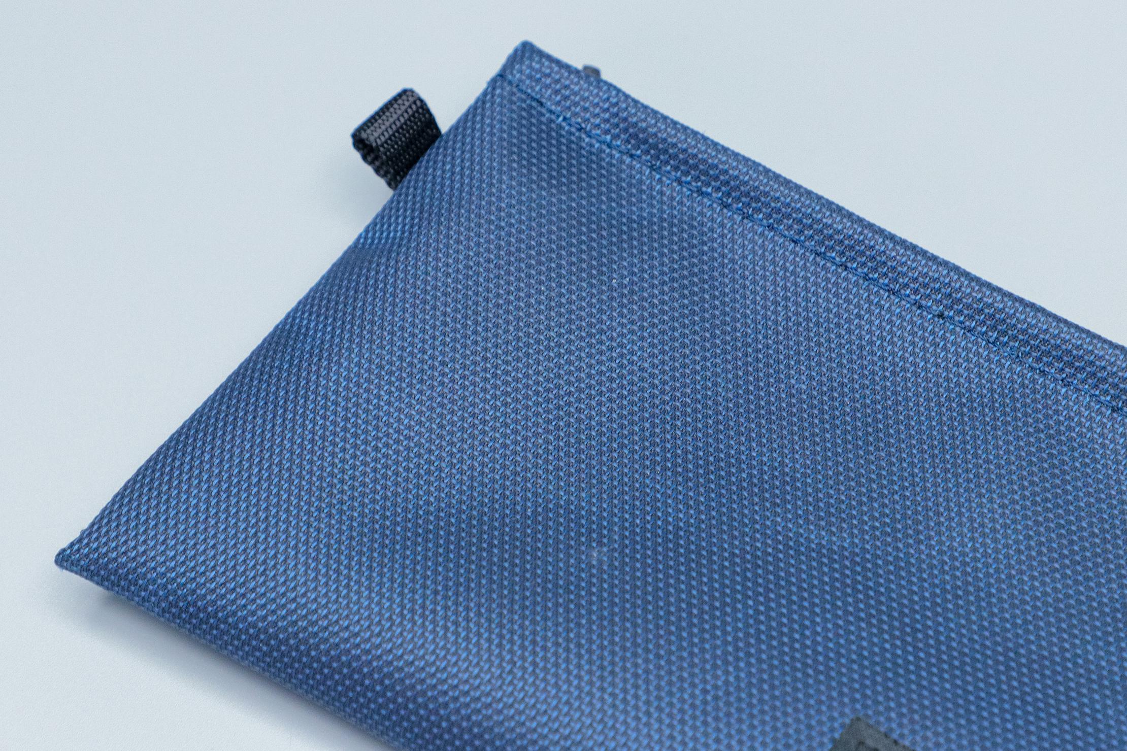WaterField Designs Travel Wallet materials