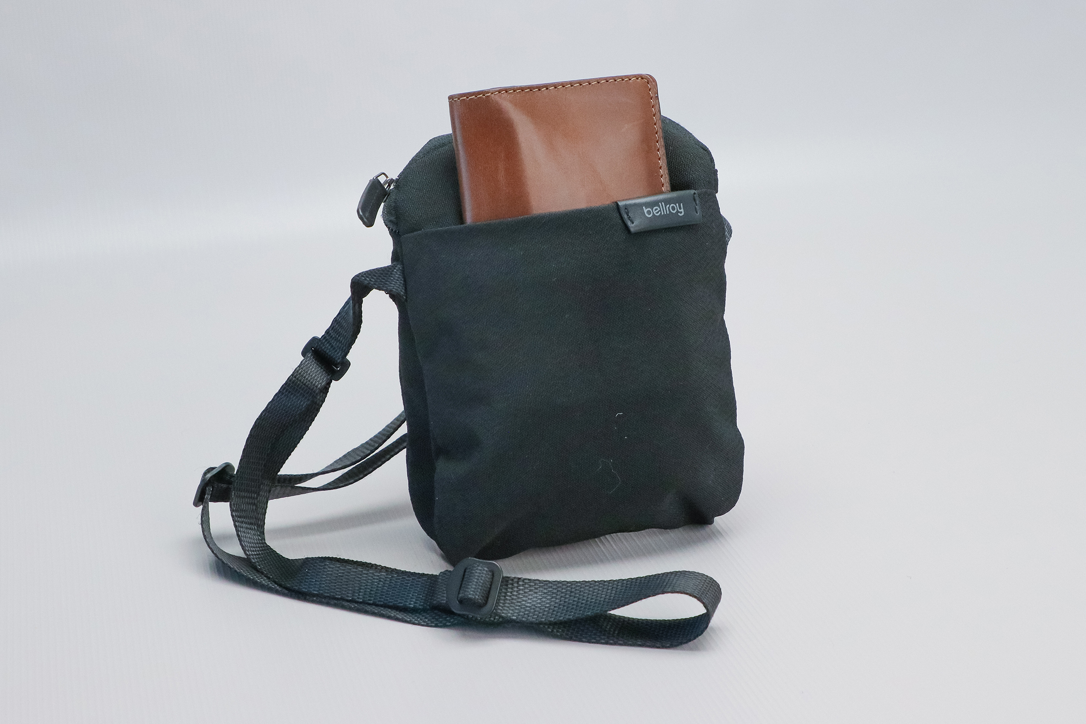 Nomad Goods Traditional Passport Wallet in Sling