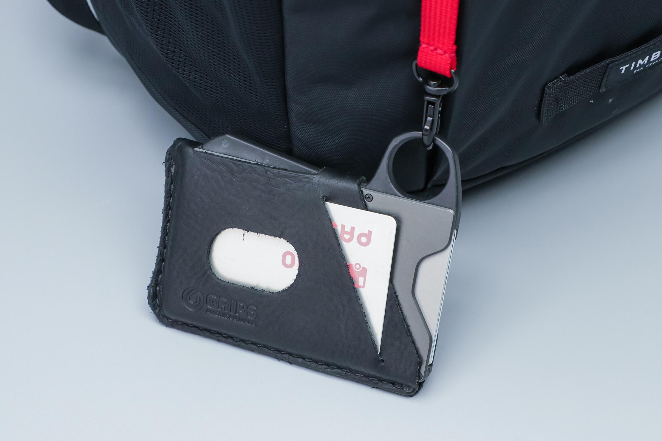 Grip6 Wallet On Key Clip