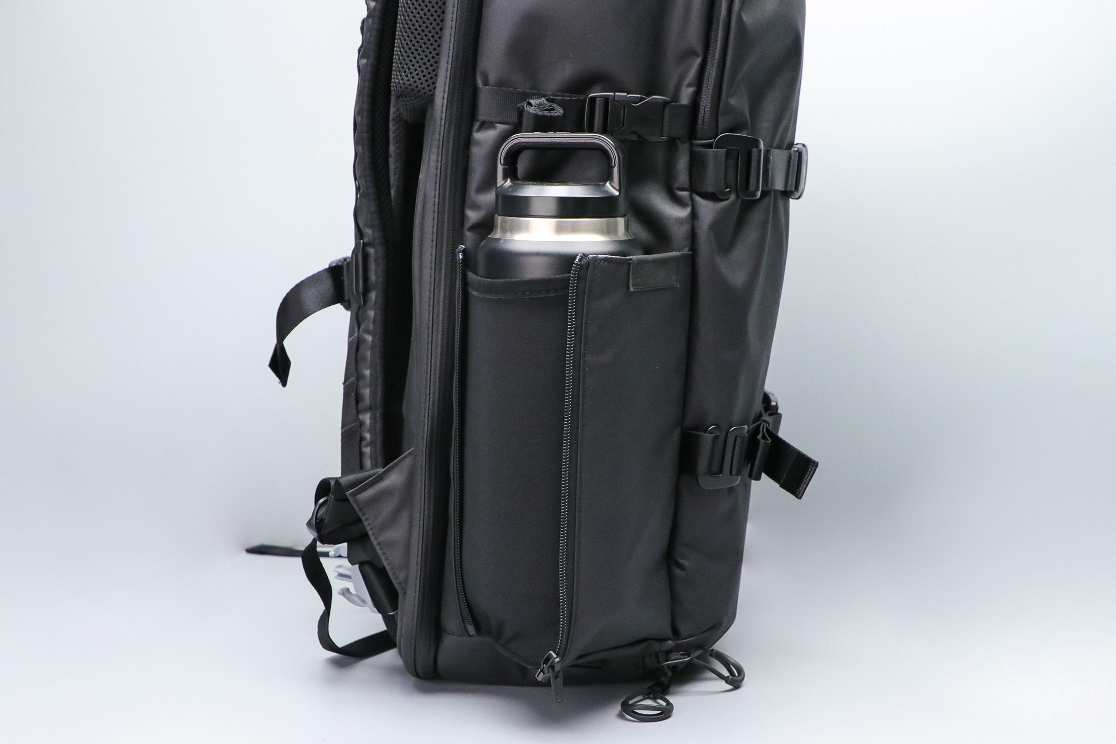 Gravel Backpack Travel System 42L Water Bottle Pocket