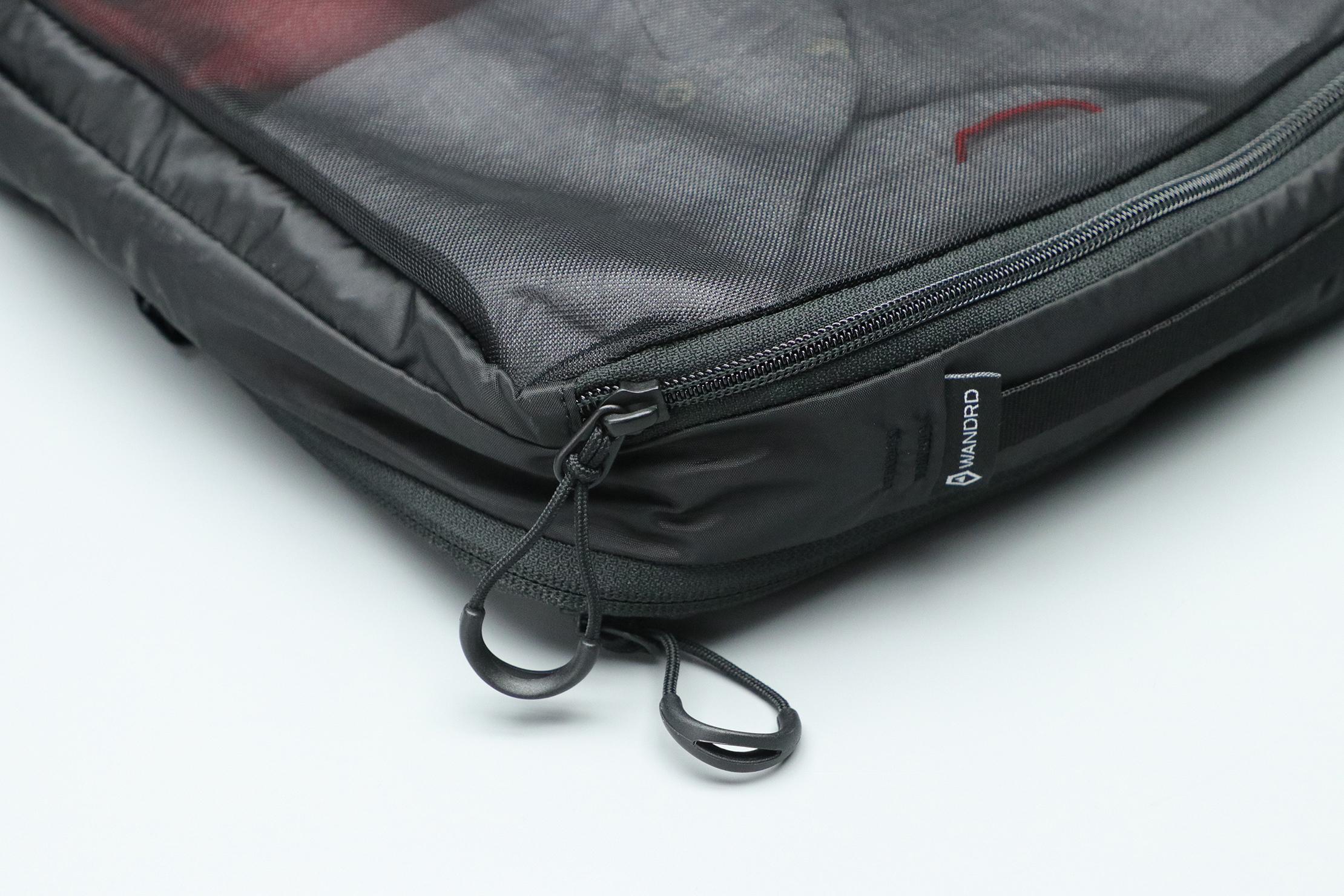 WANDRD Packing Cubes Logo and Zipper