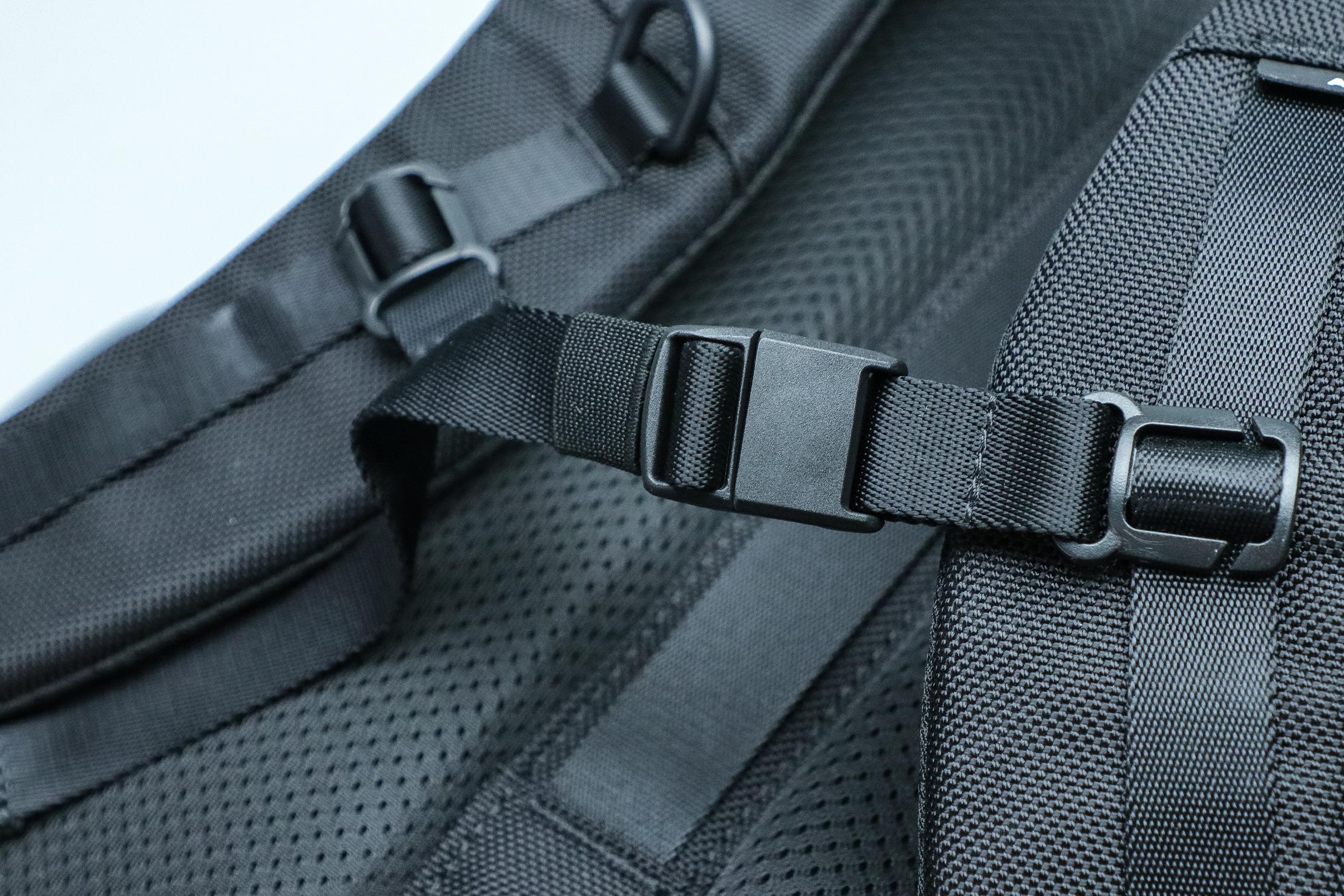 Aer City Pack Strap Closeup